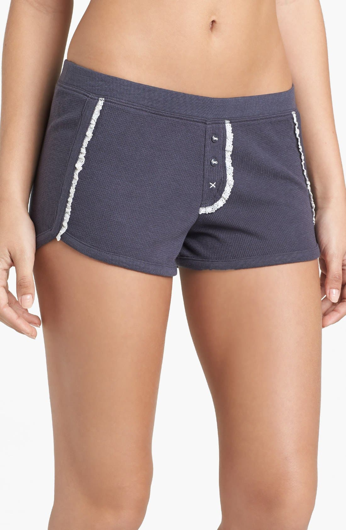 Main Image - BP. Undercover 'Campside' Thermal Shorts (Juniors)