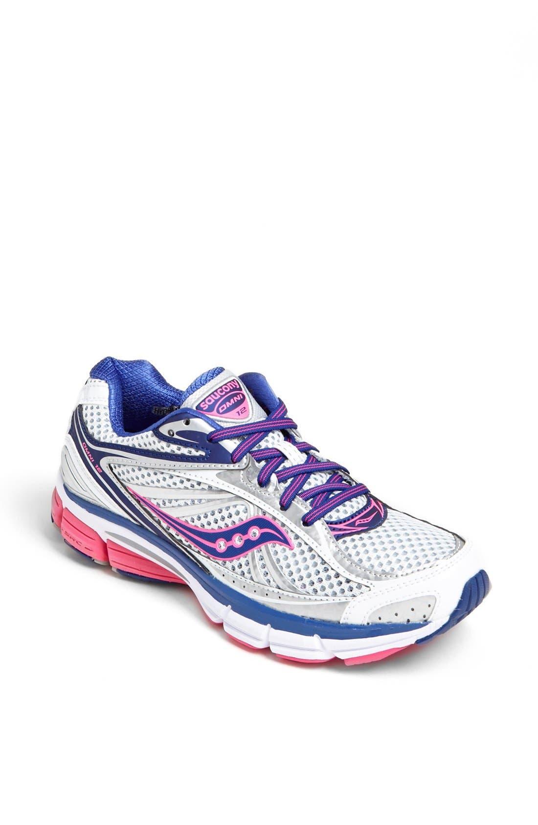 Main Image - Saucony 'Omni 12' Running Shoe (Women)