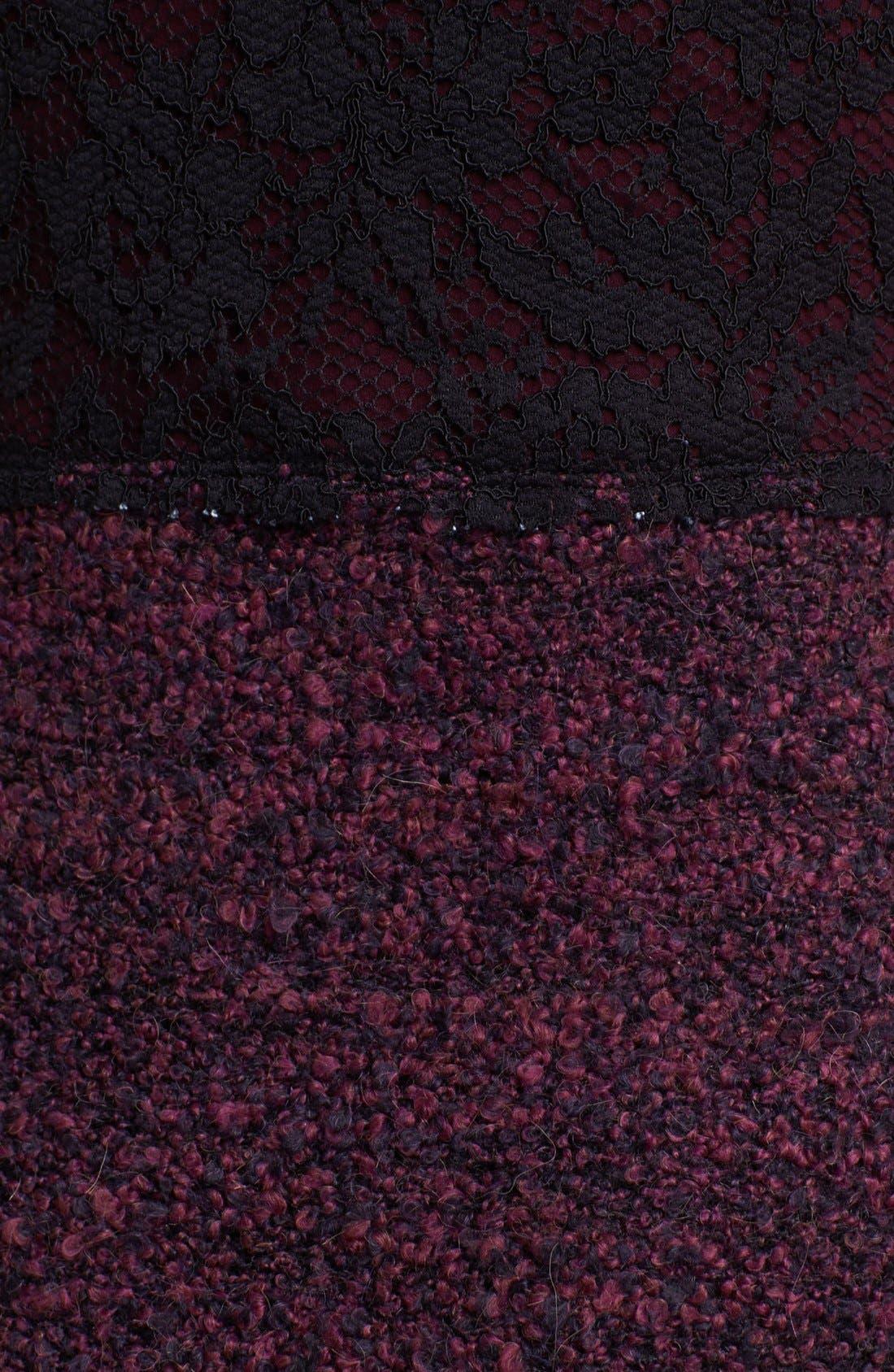 Alternate Image 3  - Bailey 44 'Enshadowed Heart' Lace & Bouclé Dress