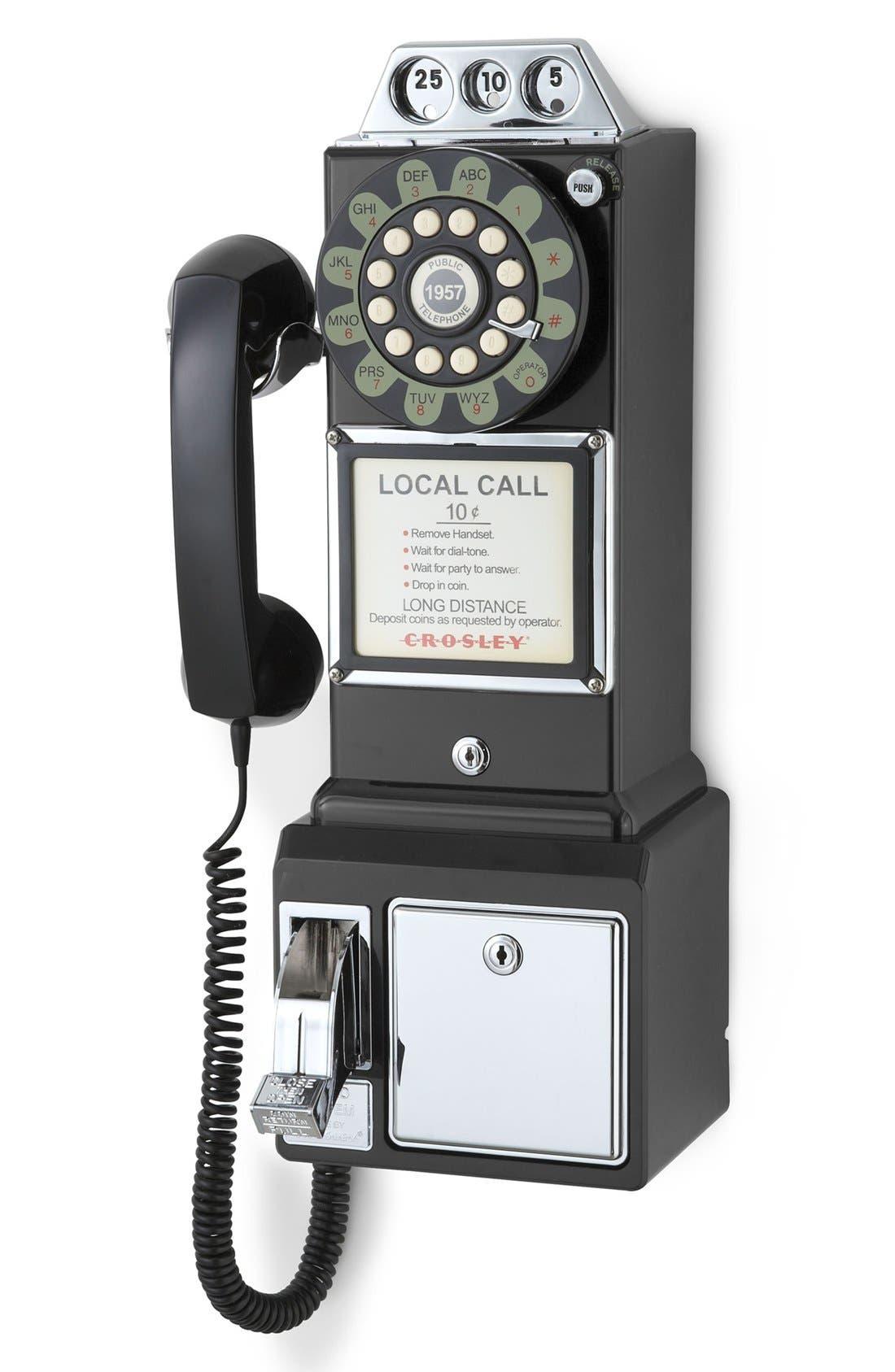 Alternate Image 2  - Crosley Radio 'Pay Phone' Wall Phone