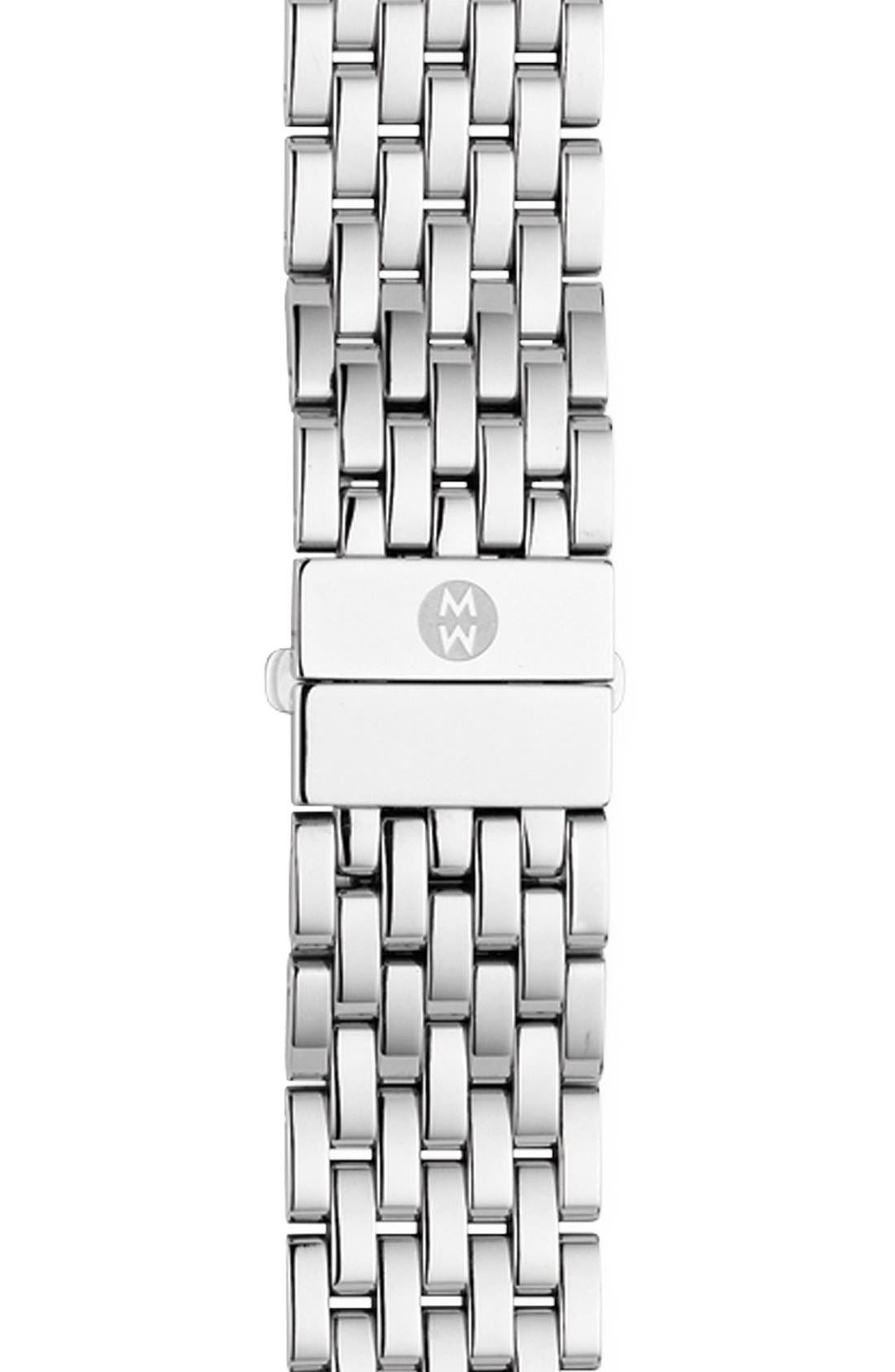 Alternate Image 1 Selected - MICHELE 'CSX-36' 18mm Bracelet Watchband