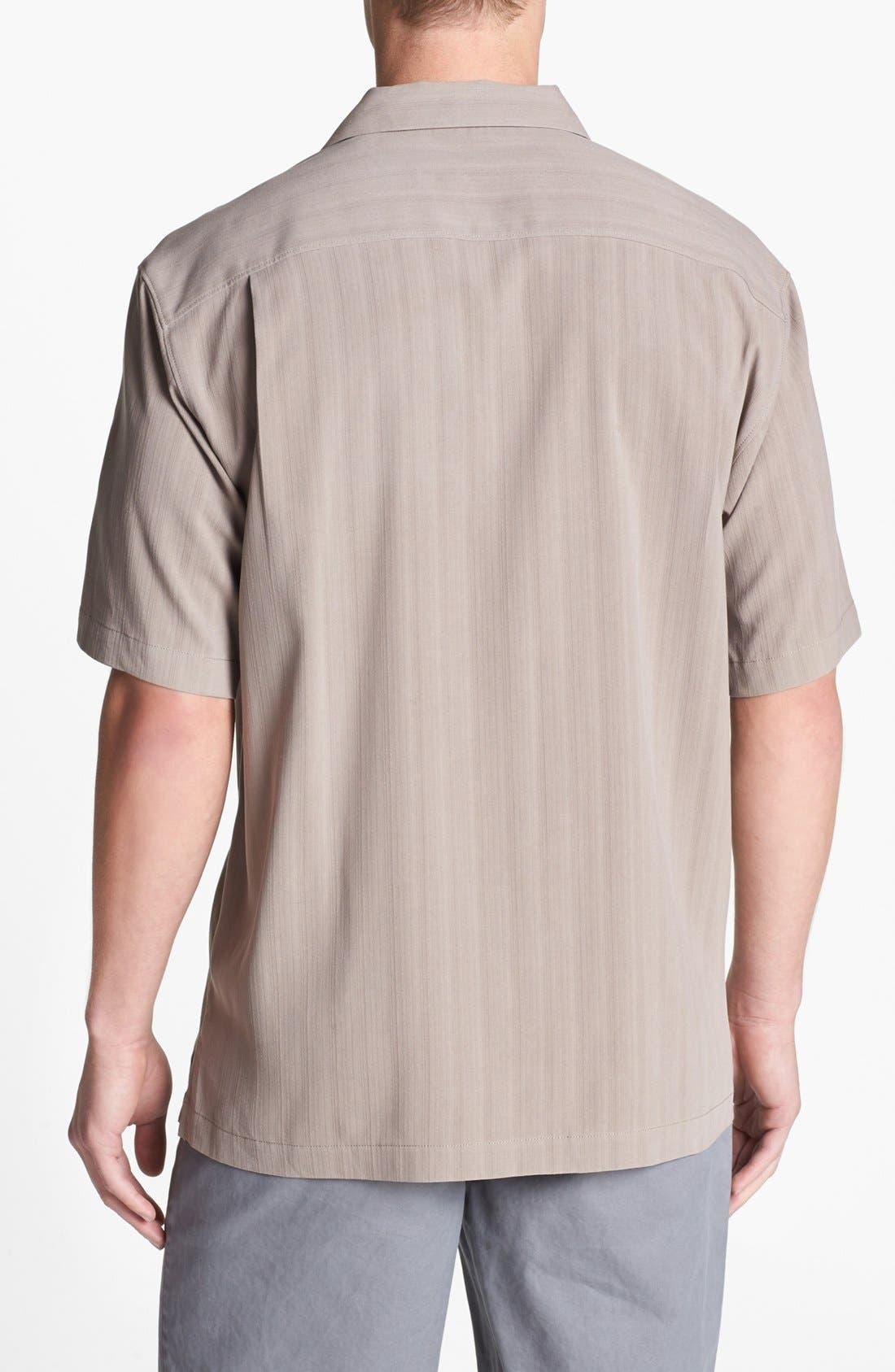 Alternate Image 2  - Tommy Bahama 'Path to Raj' Silk Campshirt