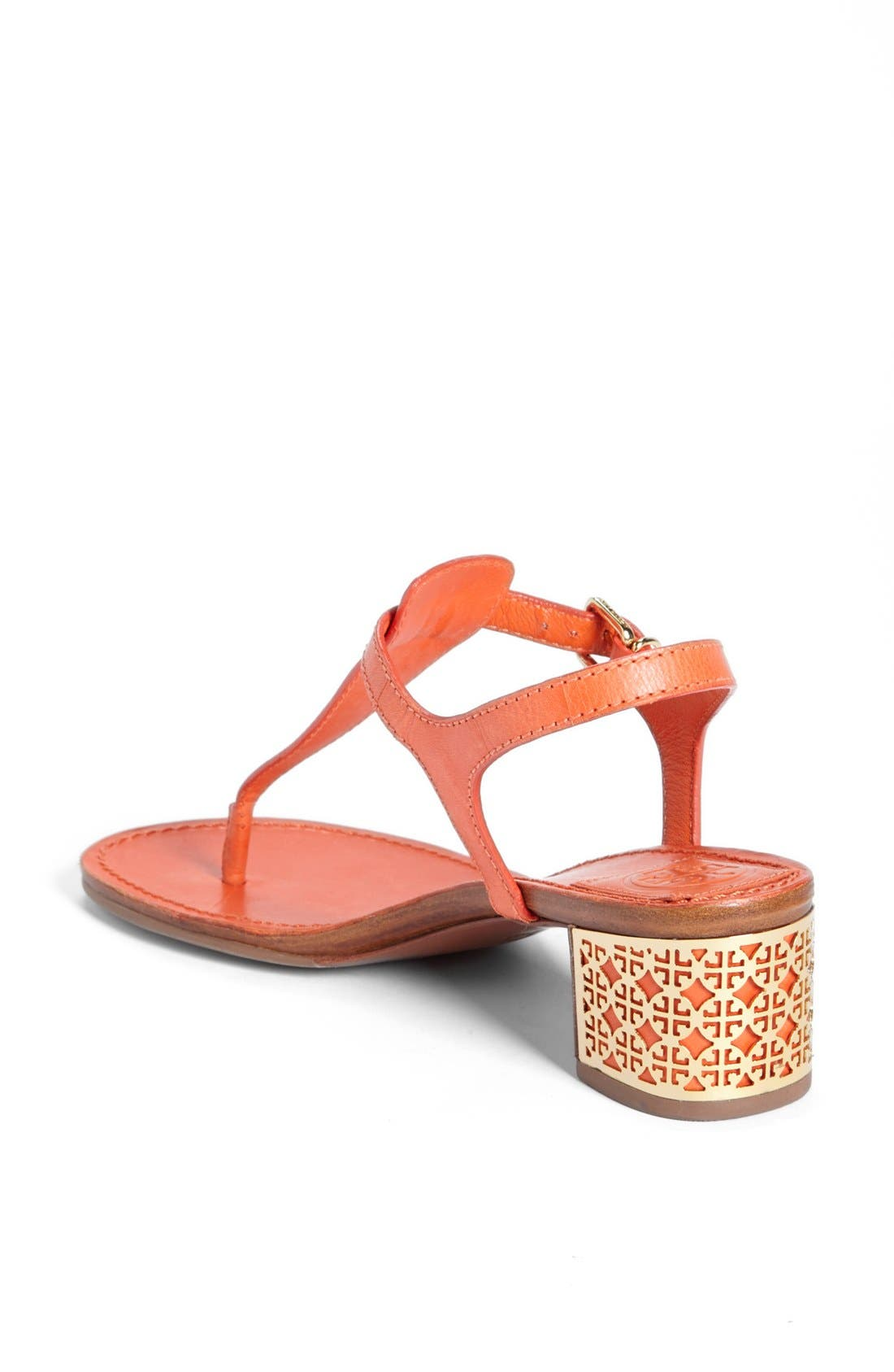 'Audra' Sandal,                             Alternate thumbnail 2, color,                             Tiger Lily