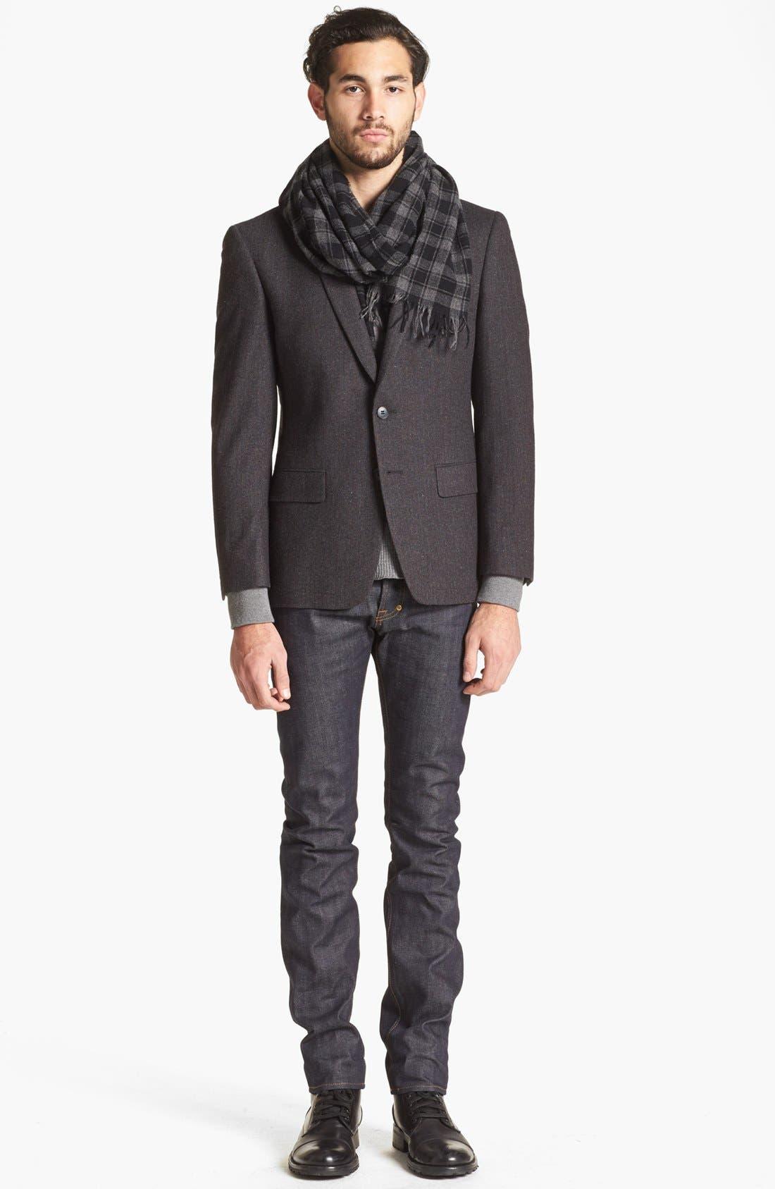 Alternate Image 4  - John Varvatos Star USA Stripe Wool Blend Sportcoat