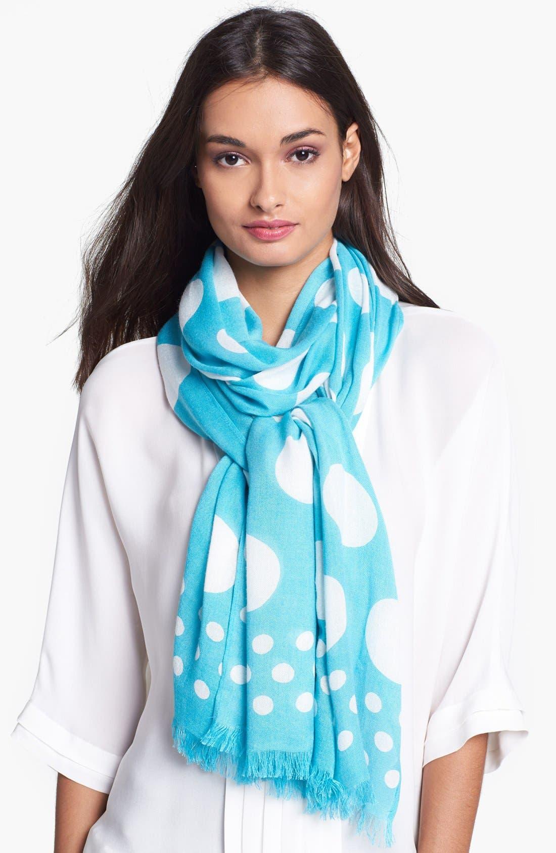 Main Image - kate spade new york 'tinsel town' scarf