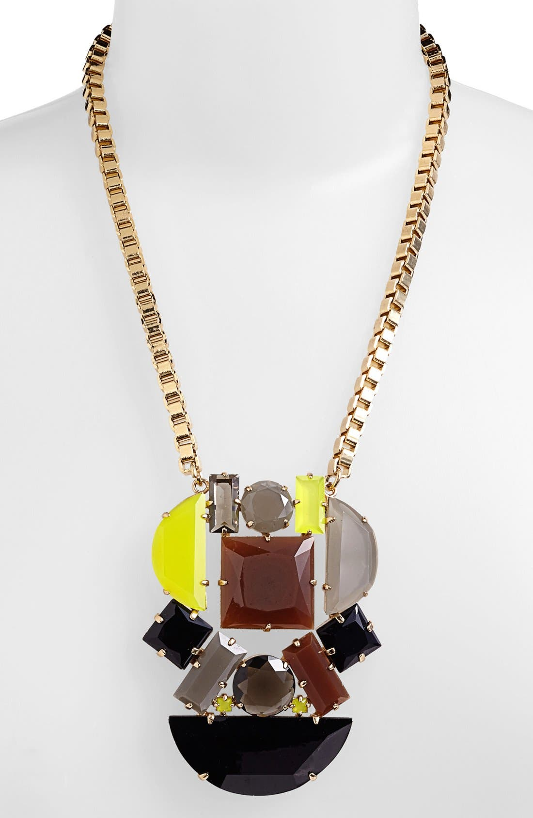 Alternate Image 2  - kate spade new york 'mod money' statement pendant necklace