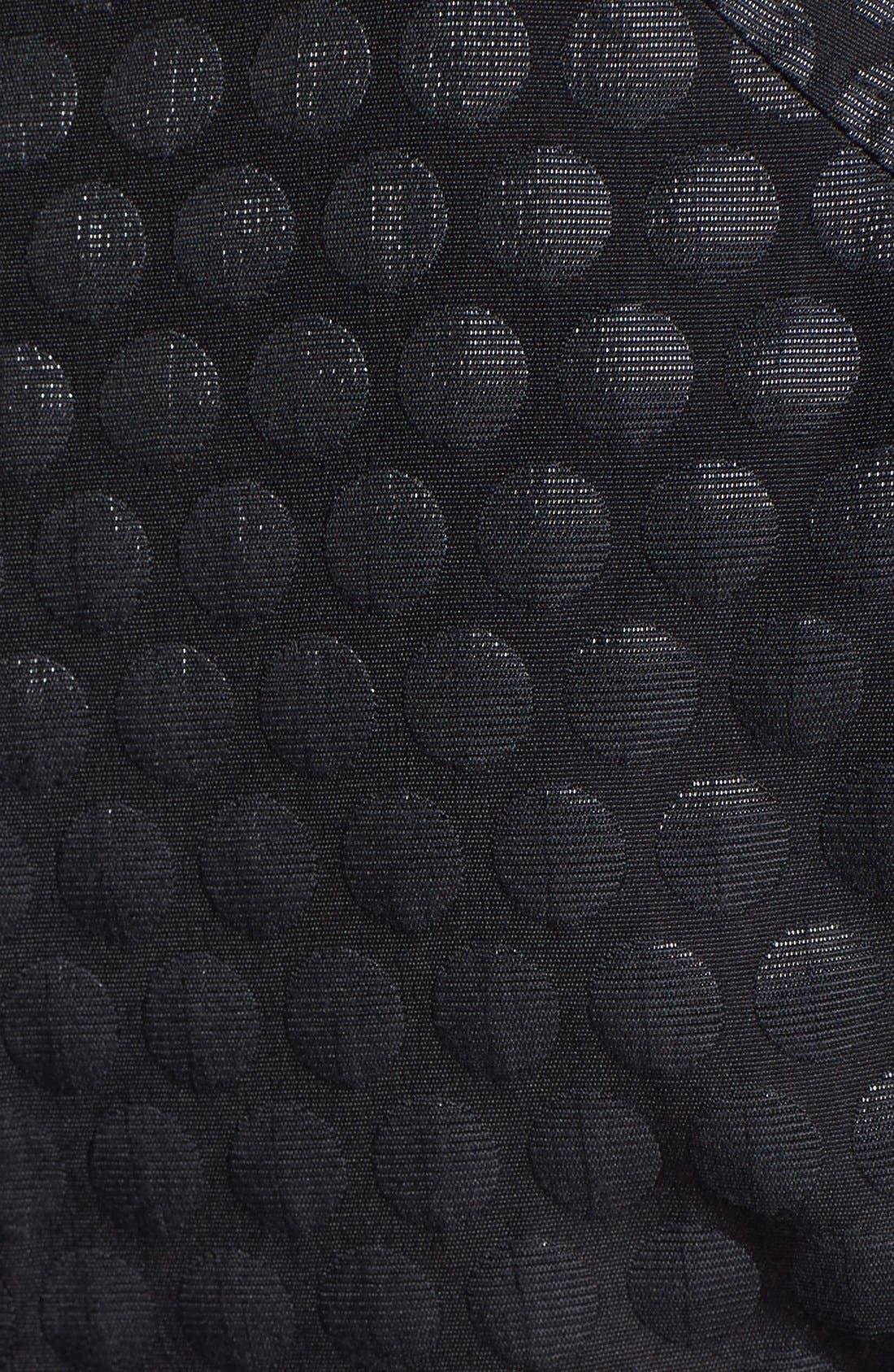 Alternate Image 3  - Vince Camuto Dot Pattern Peplum Top