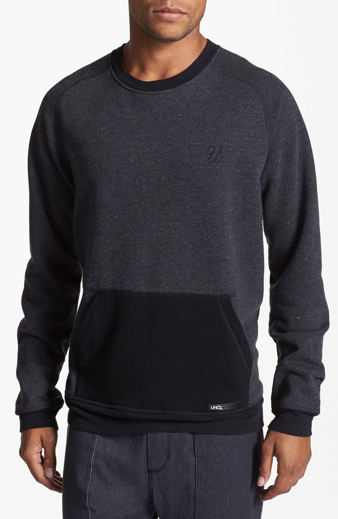 Alternate Image 1 Selected - UNCL Raglan Crewneck Sweater