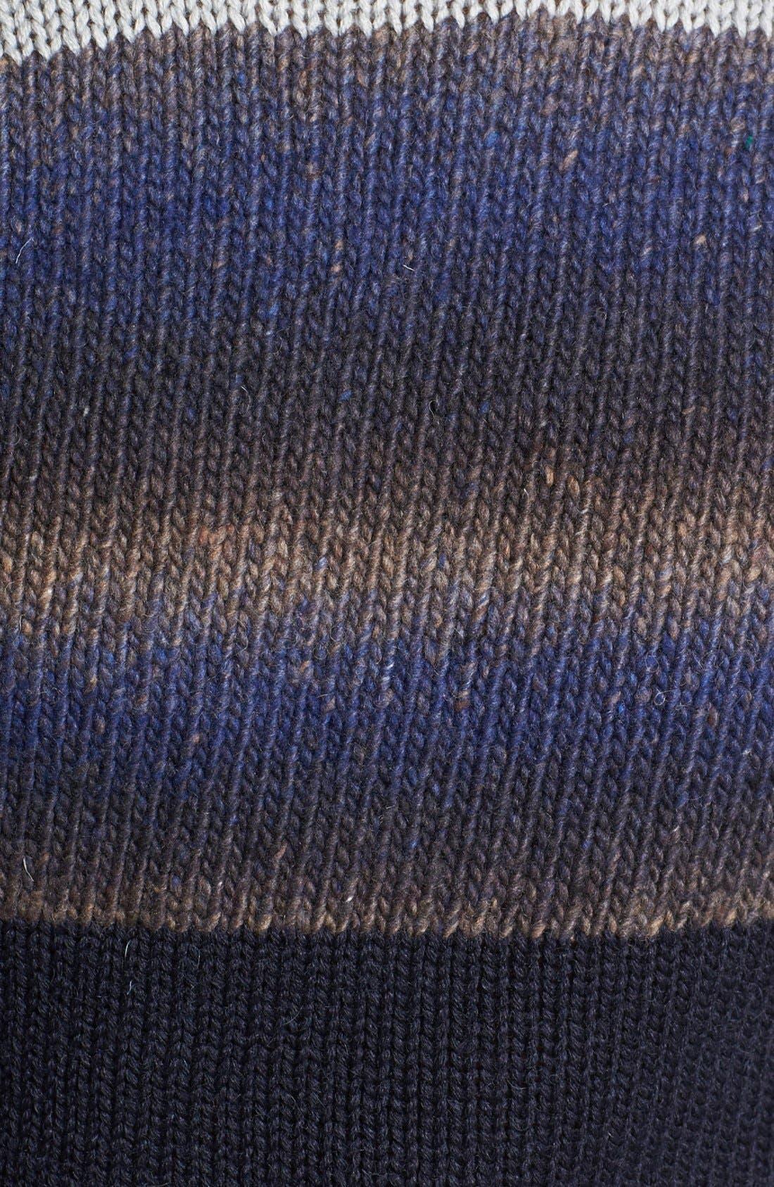 Alternate Image 3  - Antony Morato Colorblock Crewneck Sweater