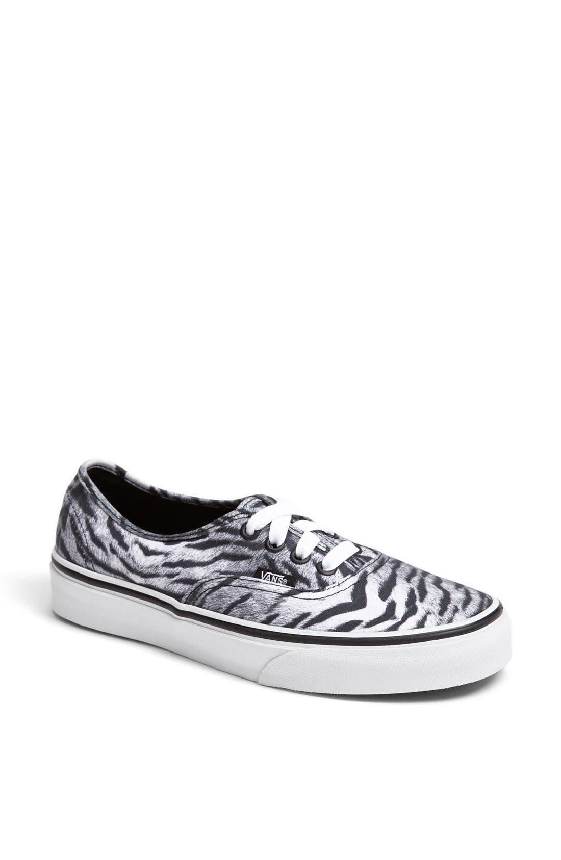 Alternate Image 1 Selected - Vans 'Authentic' Sneaker (Women)