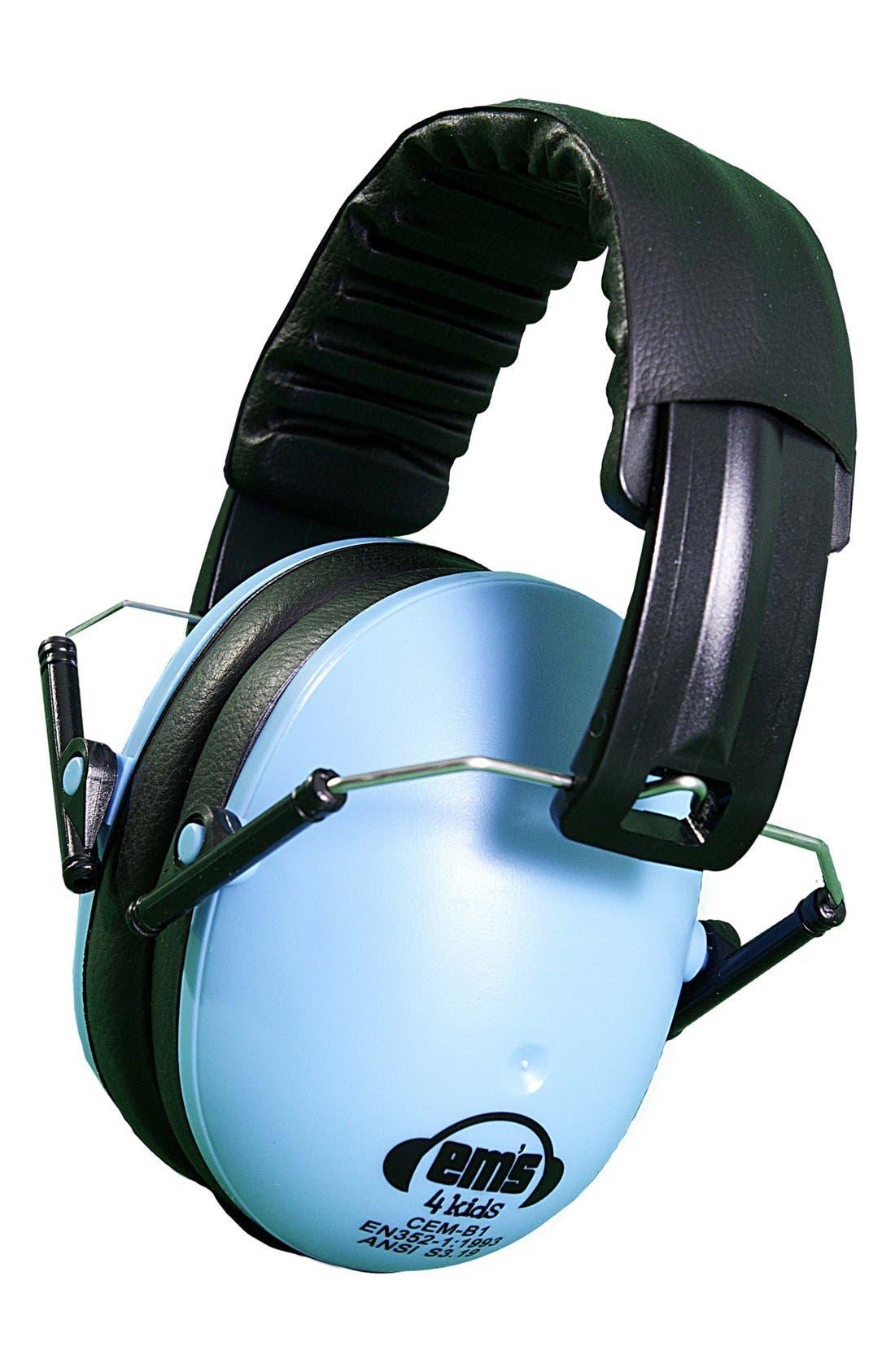 Alternate Image 1 Selected - Em's 4 Kids Noise Reducing Earmuffs (Toddler Boys)