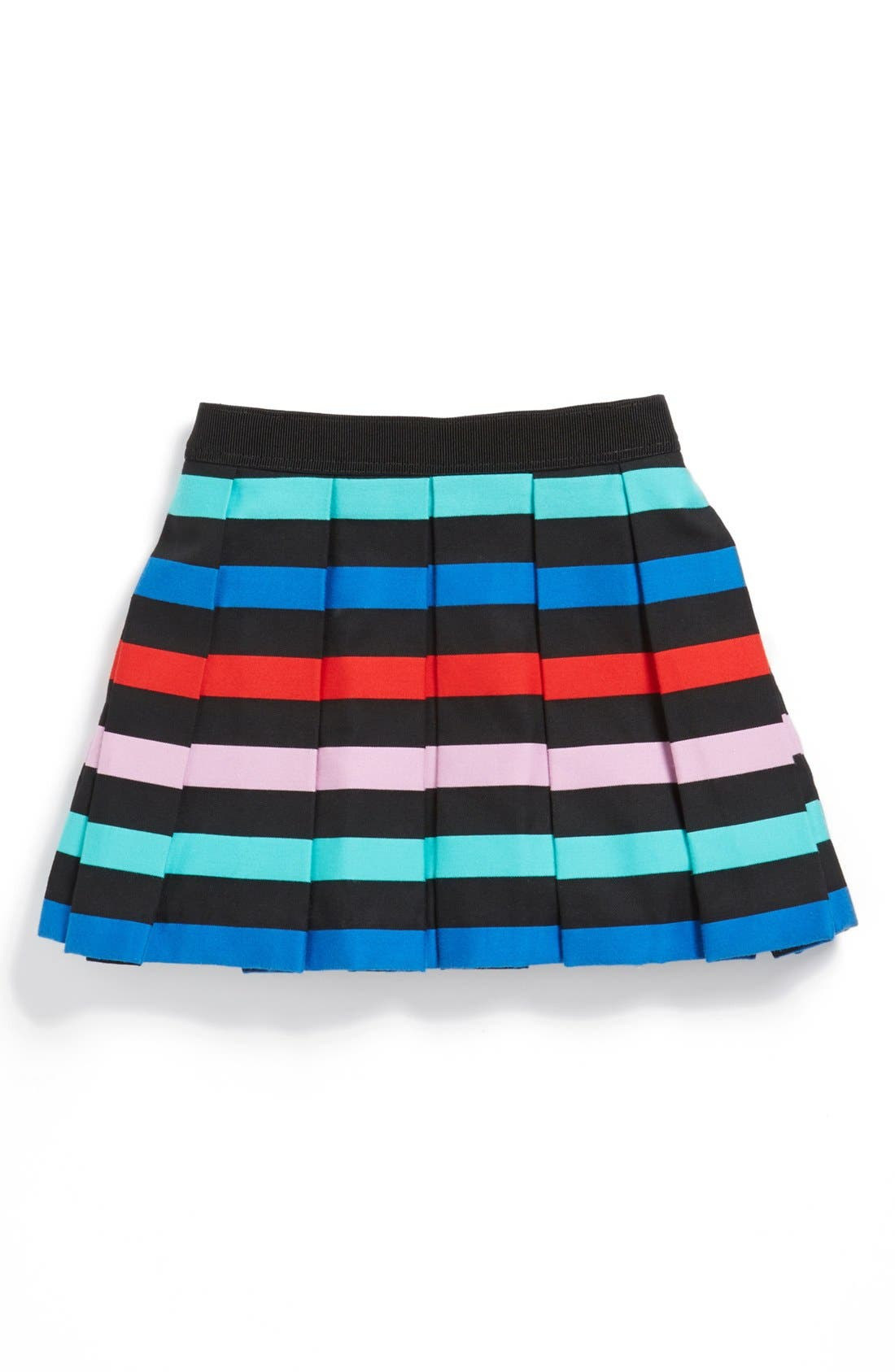 Alternate Image 1 Selected - Milly Minis Pleated Skirt (Toddler Girls, Little Girls & Big Girls)