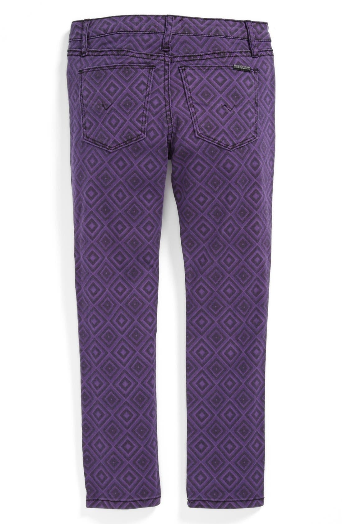 Alternate Image 1 Selected - Hudson Kids 'Dolly' Skinny Jeans (Little Girls)