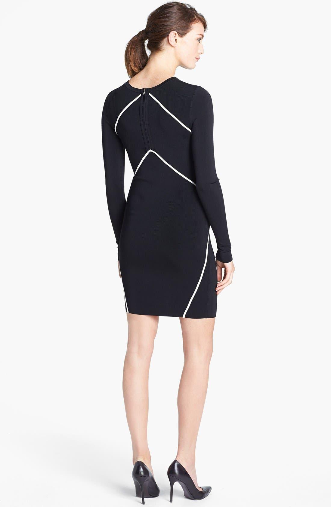Alternate Image 2  - Diane von Furstenberg 'Josephine' Knit Body-Con Dress
