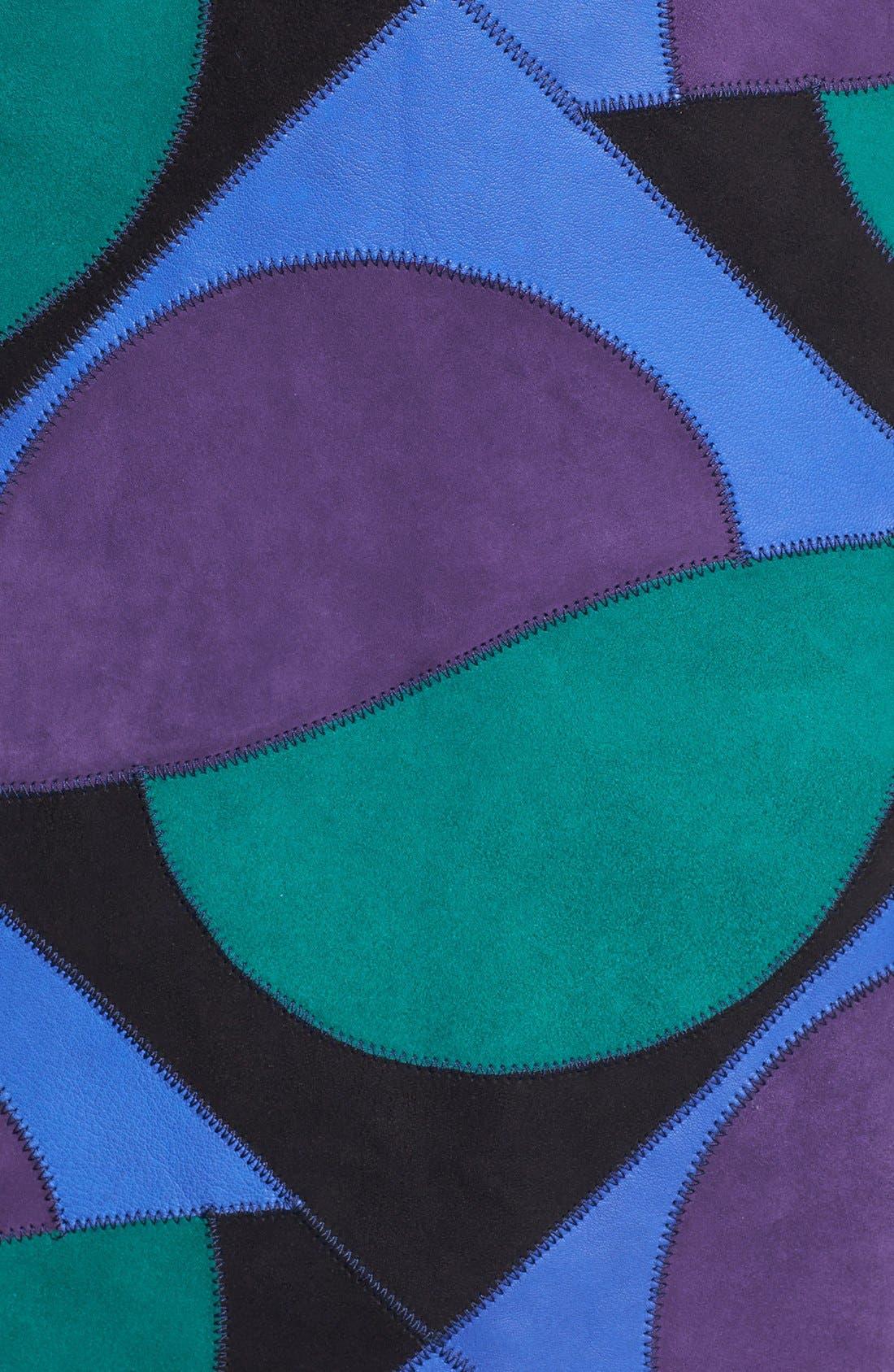 Alternate Image 3  - MARC BY MARC JACOBS 'Luna Patchwork' Suede Skirt