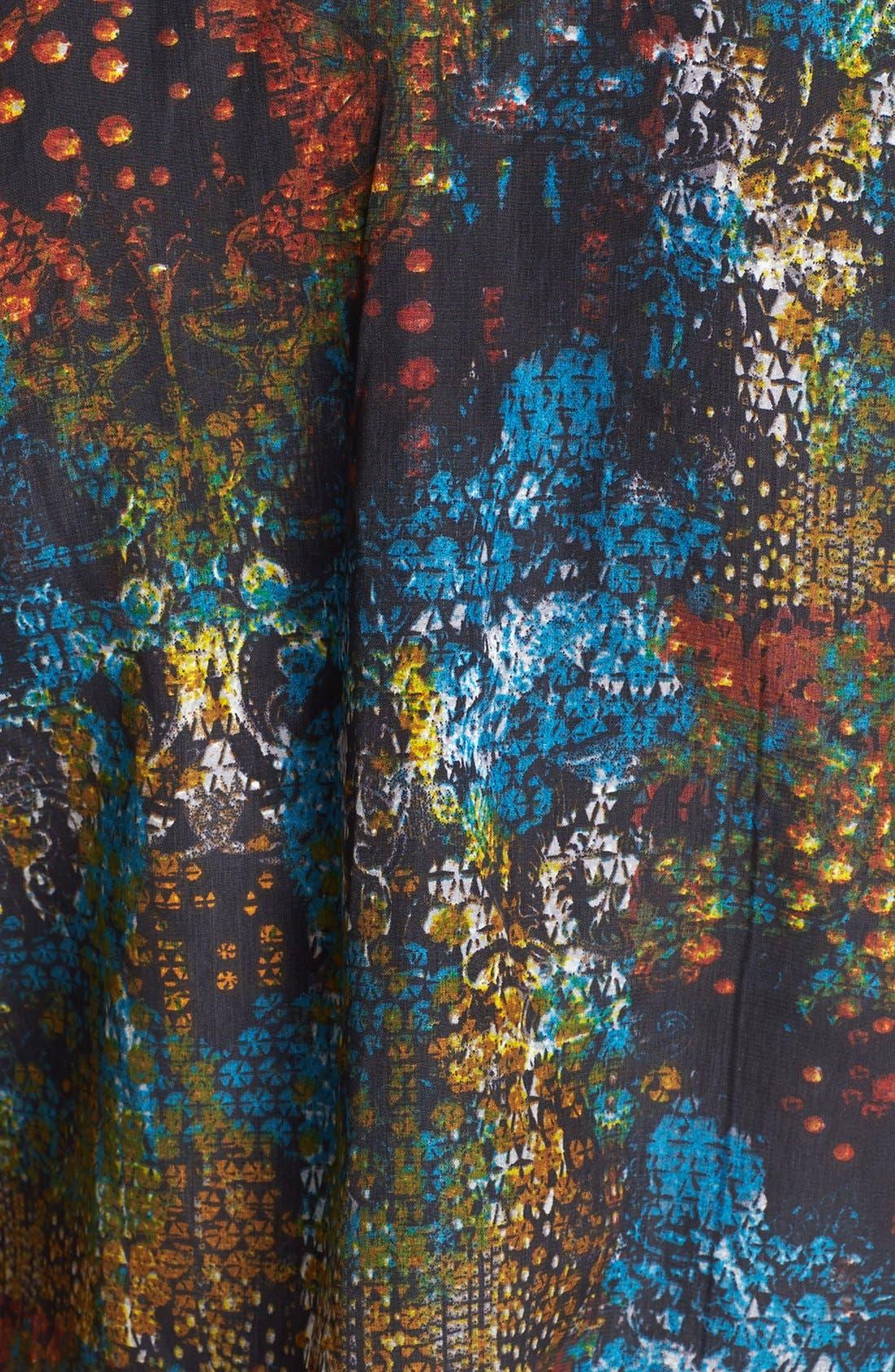 Alternate Image 3  - RBL Print Surplice Jumpsuit