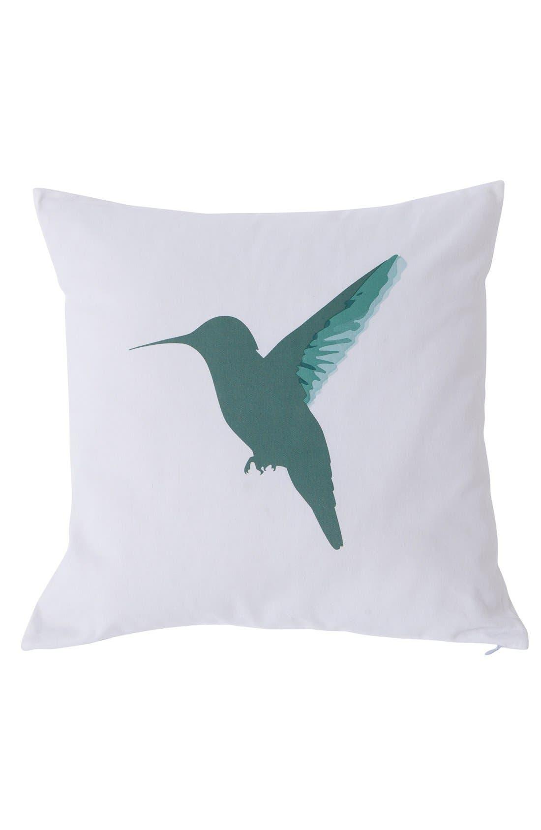 Main Image - kensie Reversible Hummingbird Pillow