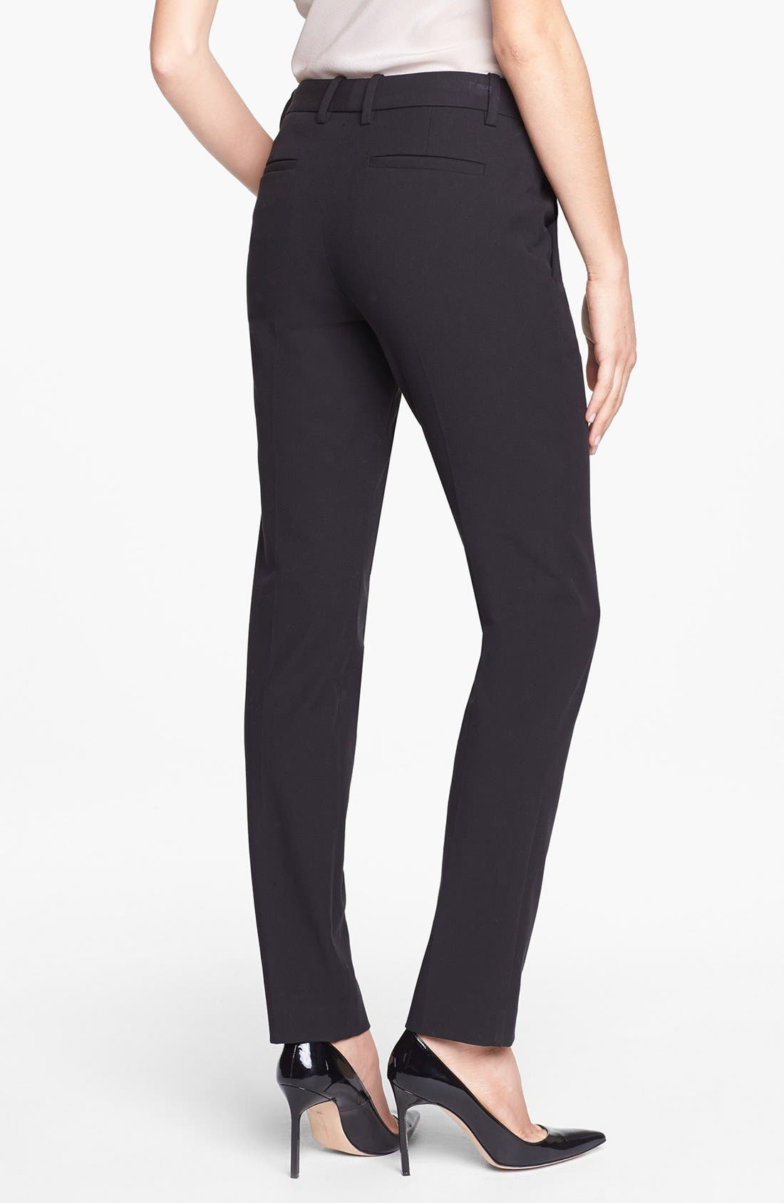 Alternate Image 2  - Theory 'Louise' Ankle Stretch Pants