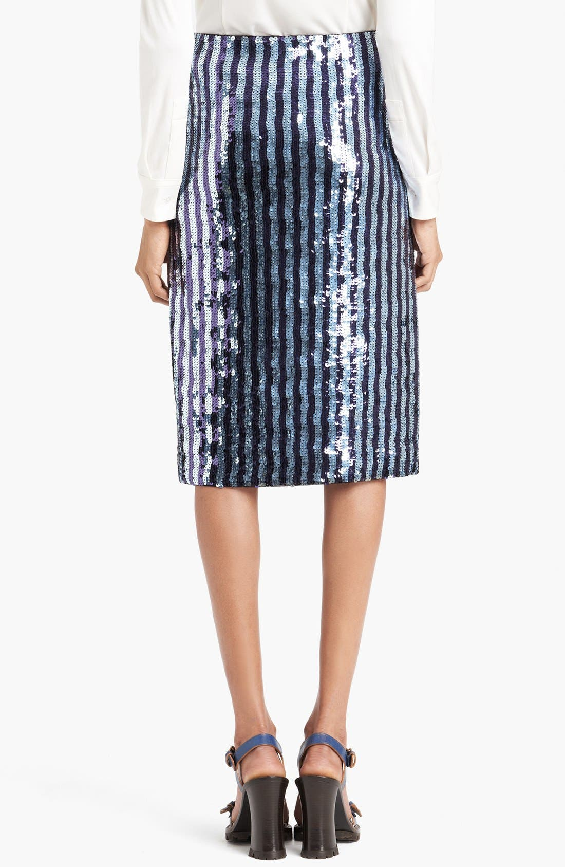 Alternate Image 2  - MARC JACOBS Sequin Pencil Skirt