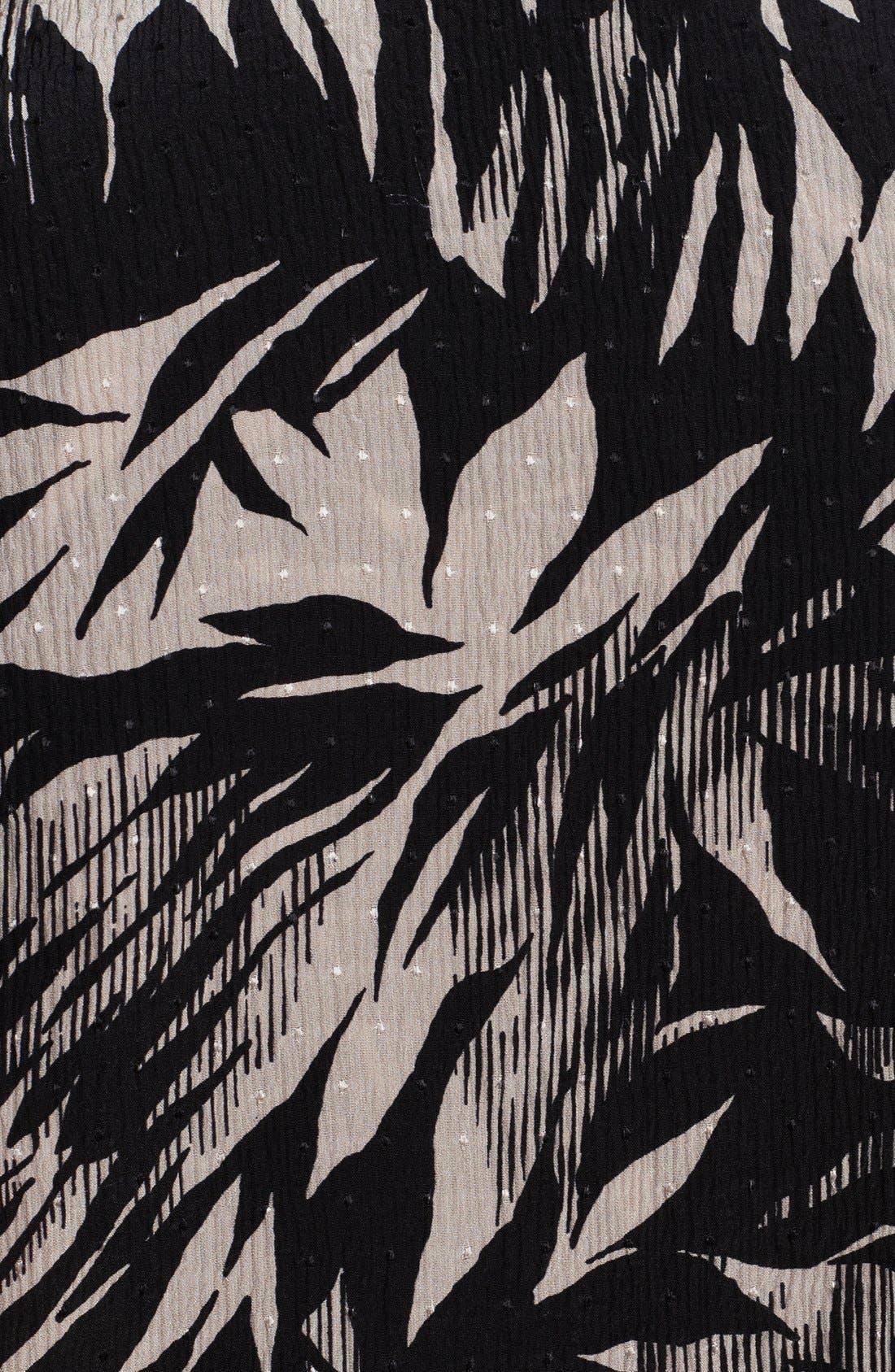 Alternate Image 4  - Jason Wu Botanical Print Crinkle Silk Chiffon Blouse