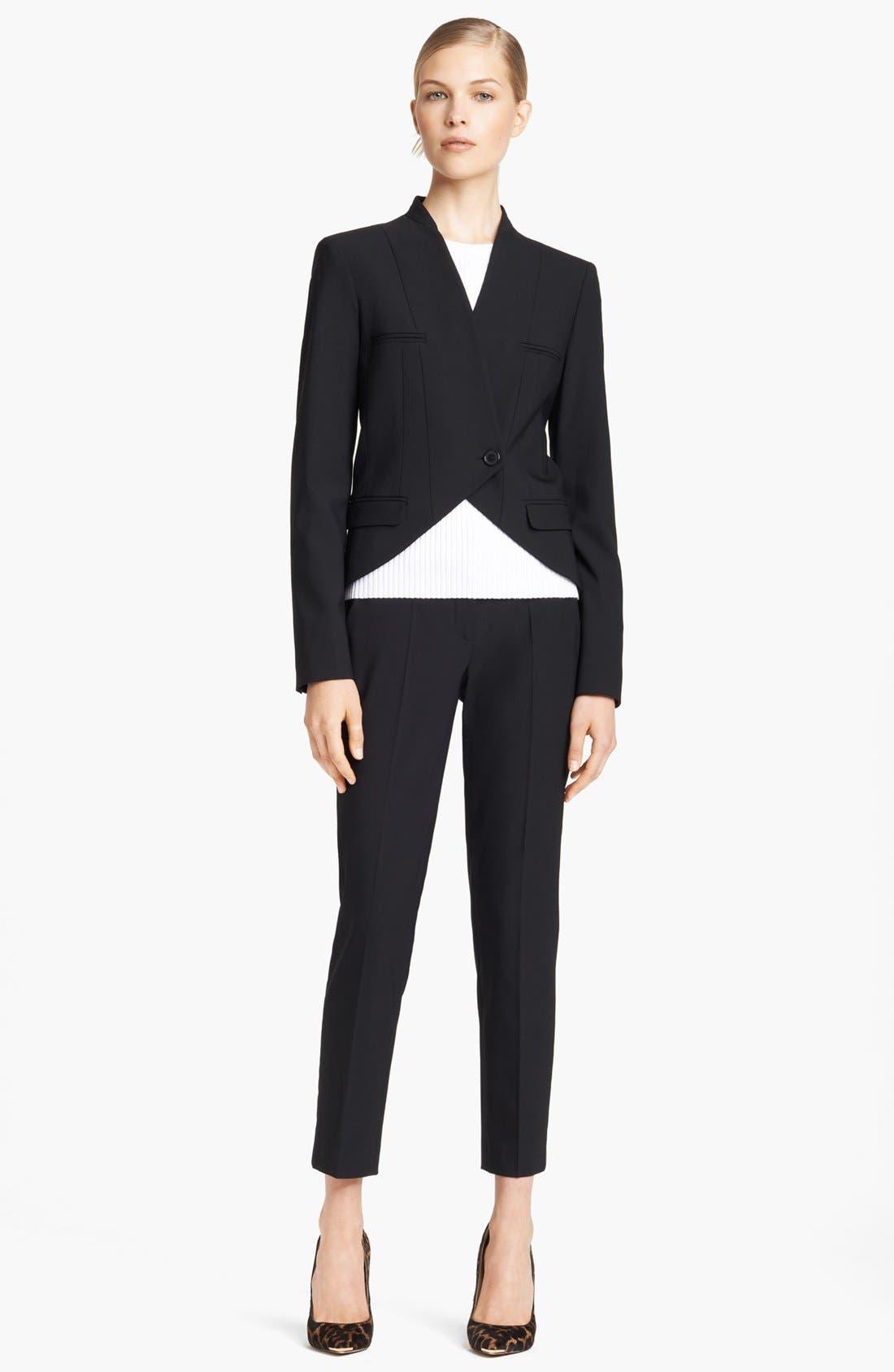 Alternate Image 3  - Michael Kors 'Samantha' Skinny Stretch Wool Pants