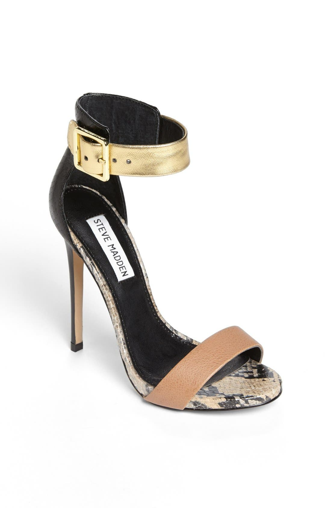'Marlenee' Sandal,                         Main,                         color, Natural Multi