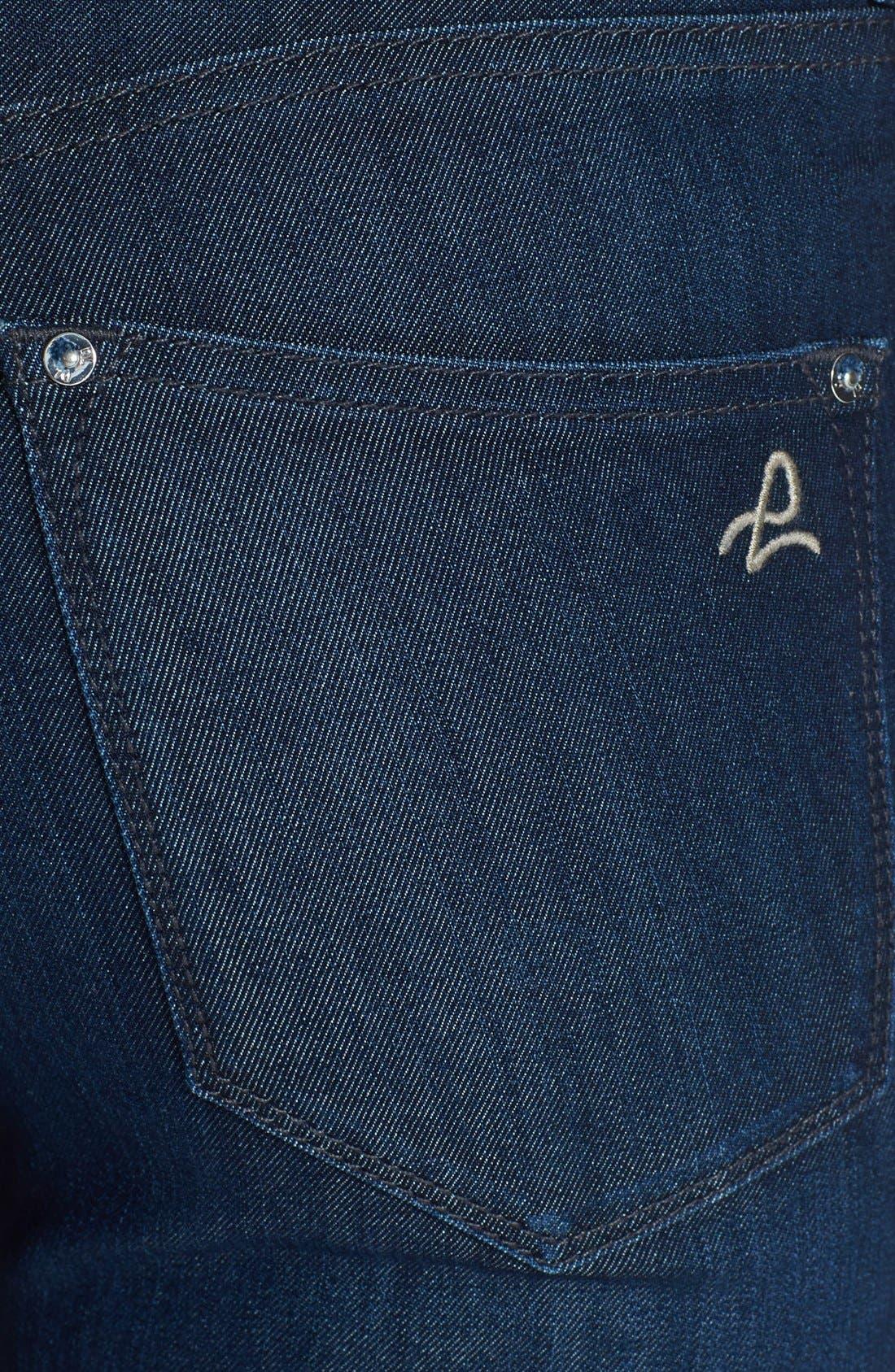 Alternate Image 3  - DL1961 'Nina' High Rise Skinny Jeans (Milan)