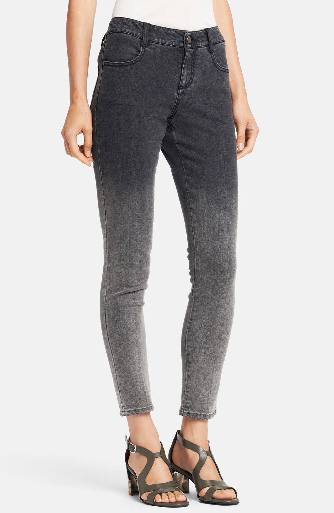 Alternate Image 1 Selected - Stella McCartney 'Simone' Dégradé Skinny Ankle Grazer Jeans