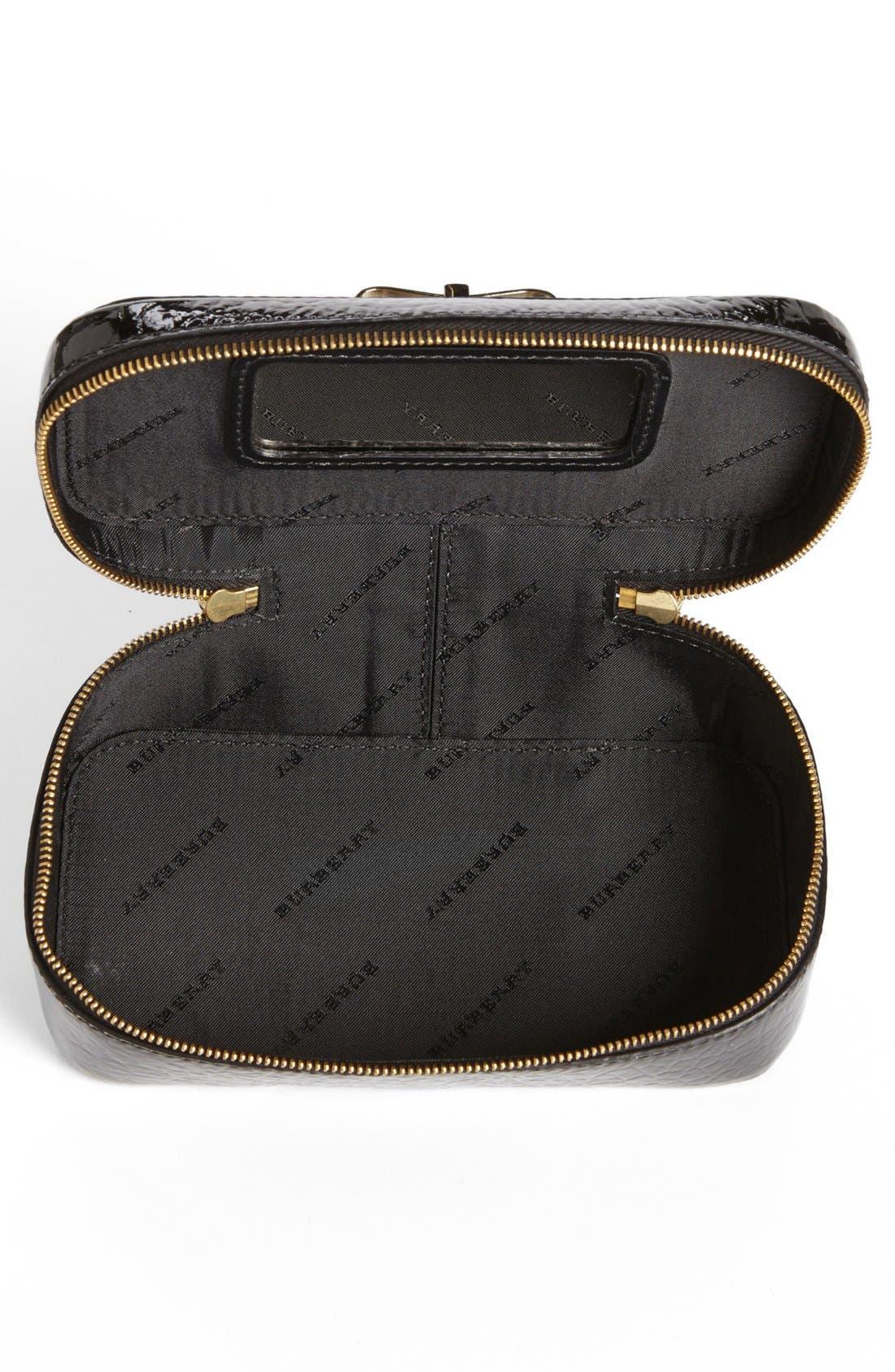 Alternate Image 2  - Burberry 'Cassel' Cosmetics Case