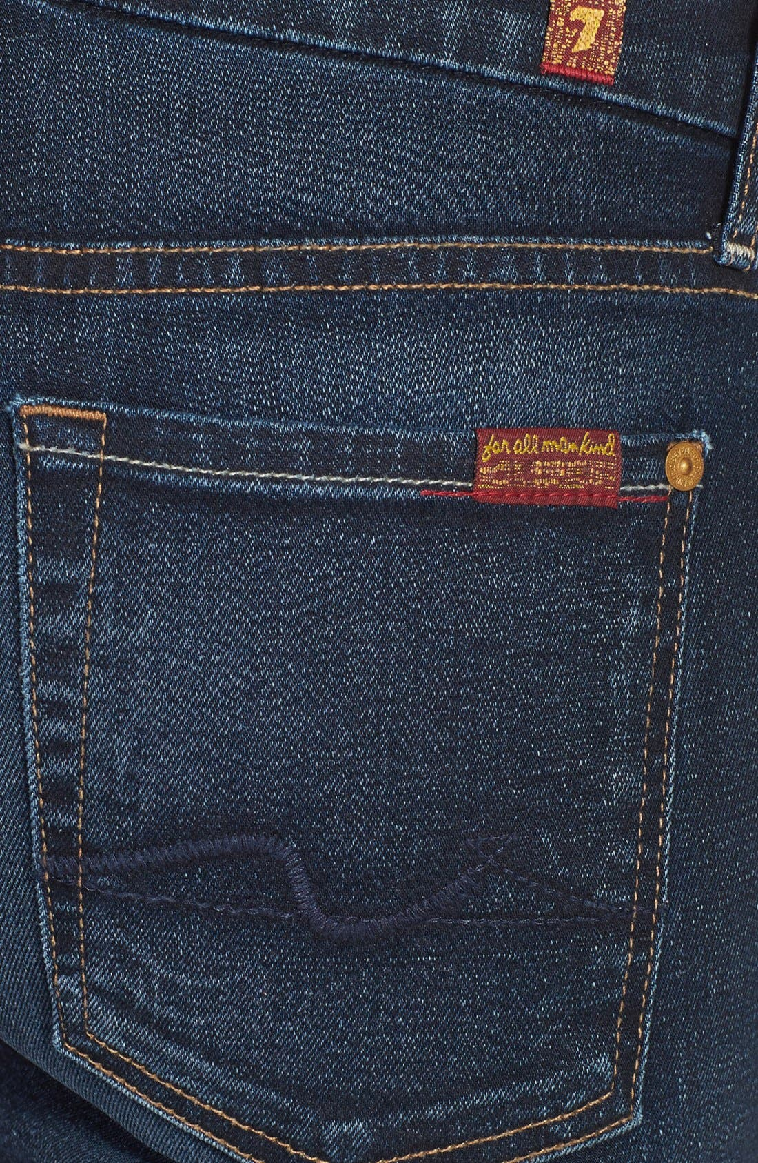 Alternate Image 3  - 7 For All Mankind® 'Kimmie' Bootcut Jeans (Merci Blue)