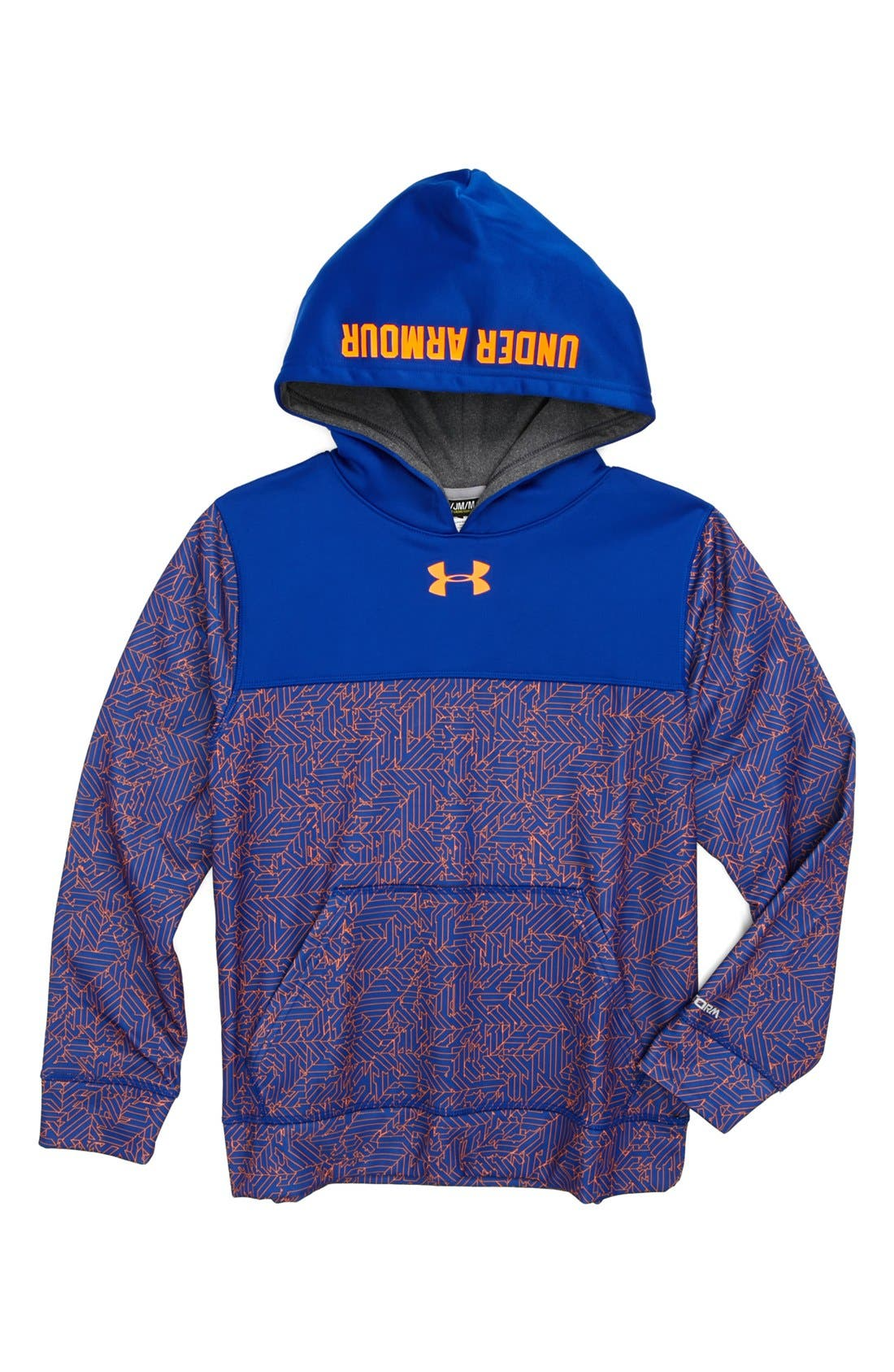 Alternate Image 1 Selected - Under Armour 'Storm' Blocked Pullover Jacket (Big Boys)