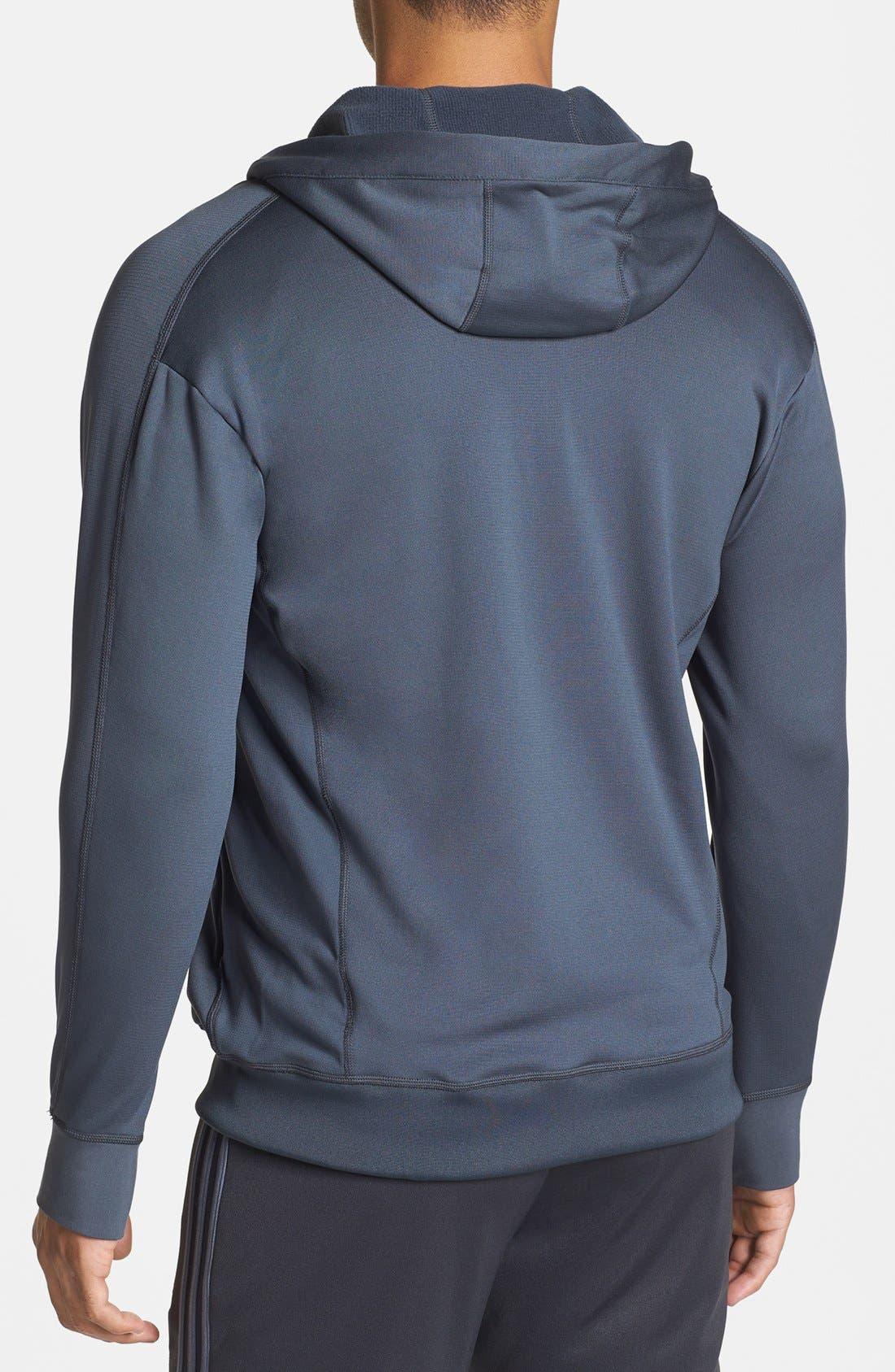Alternate Image 2  - adidas Full Zip CLIMAWARM™ Hoodie