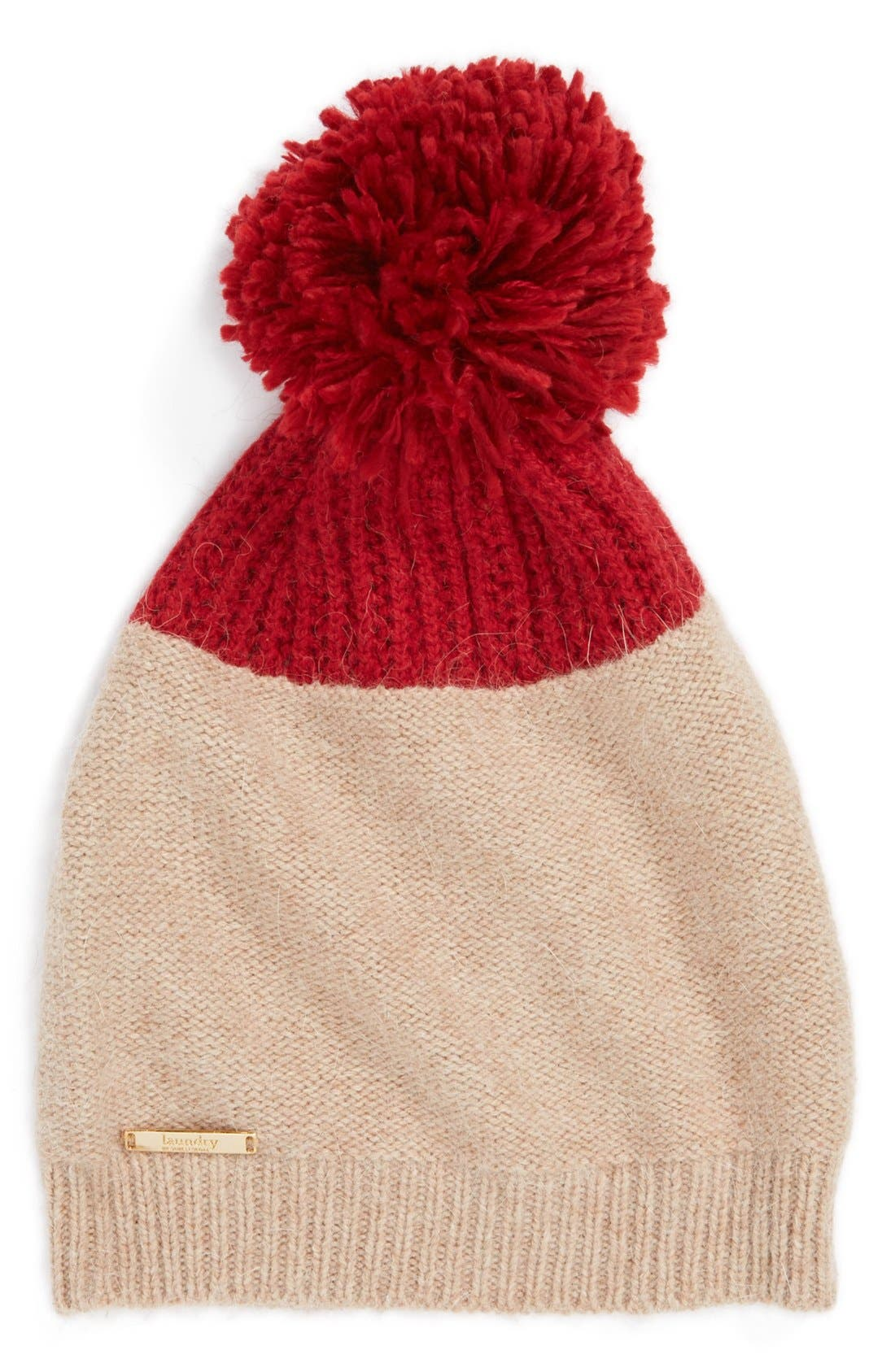 Alternate Image 1 Selected - Laundry by Shelli Segal Colorblock Beanie