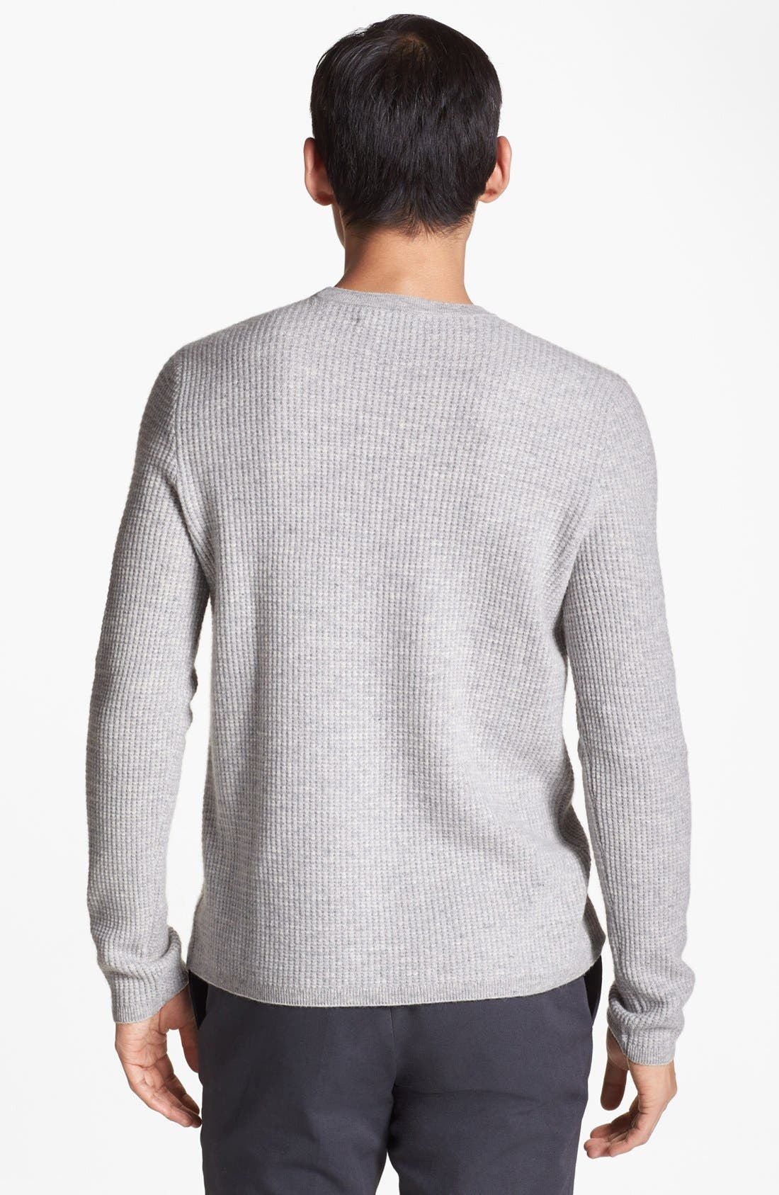 Alternate Image 2  - Vince Wool & Cashmere Crewneck Sweater
