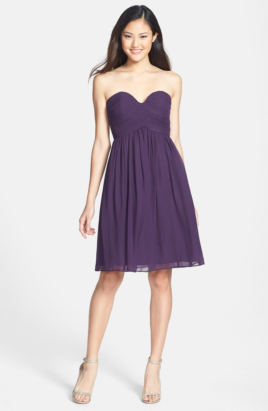Delicate Chiffon Dresses-The Perfect Figure Flatter For Strong Women