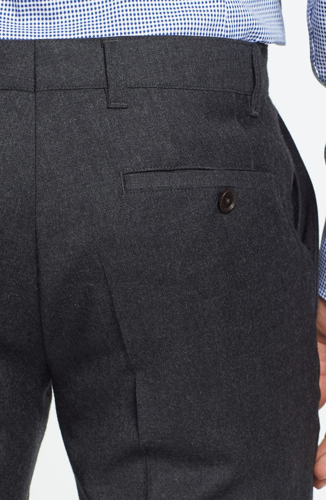 Alternate Image 3  - BOSS HUGO BOSS 'Winng' Flat Front Trousers (Online Only)