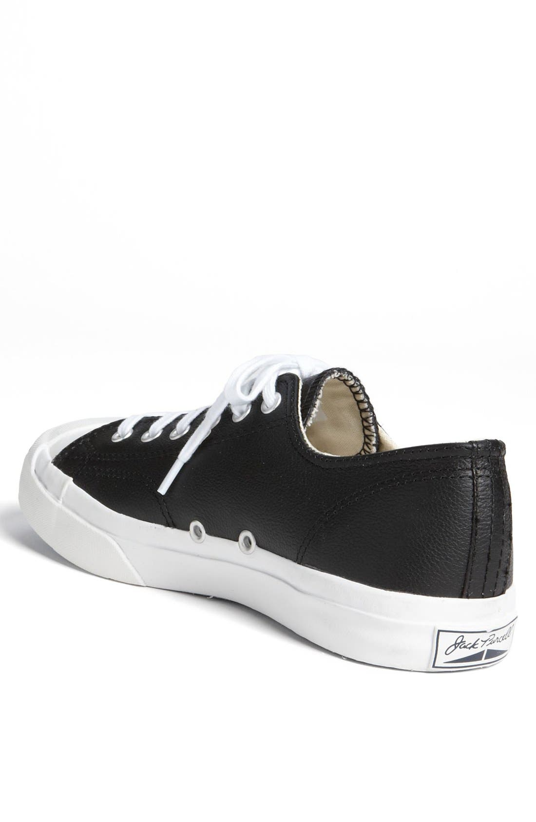 Alternate Image 2  - Converse 'Jack Purcell' Leather Sneaker (Men)