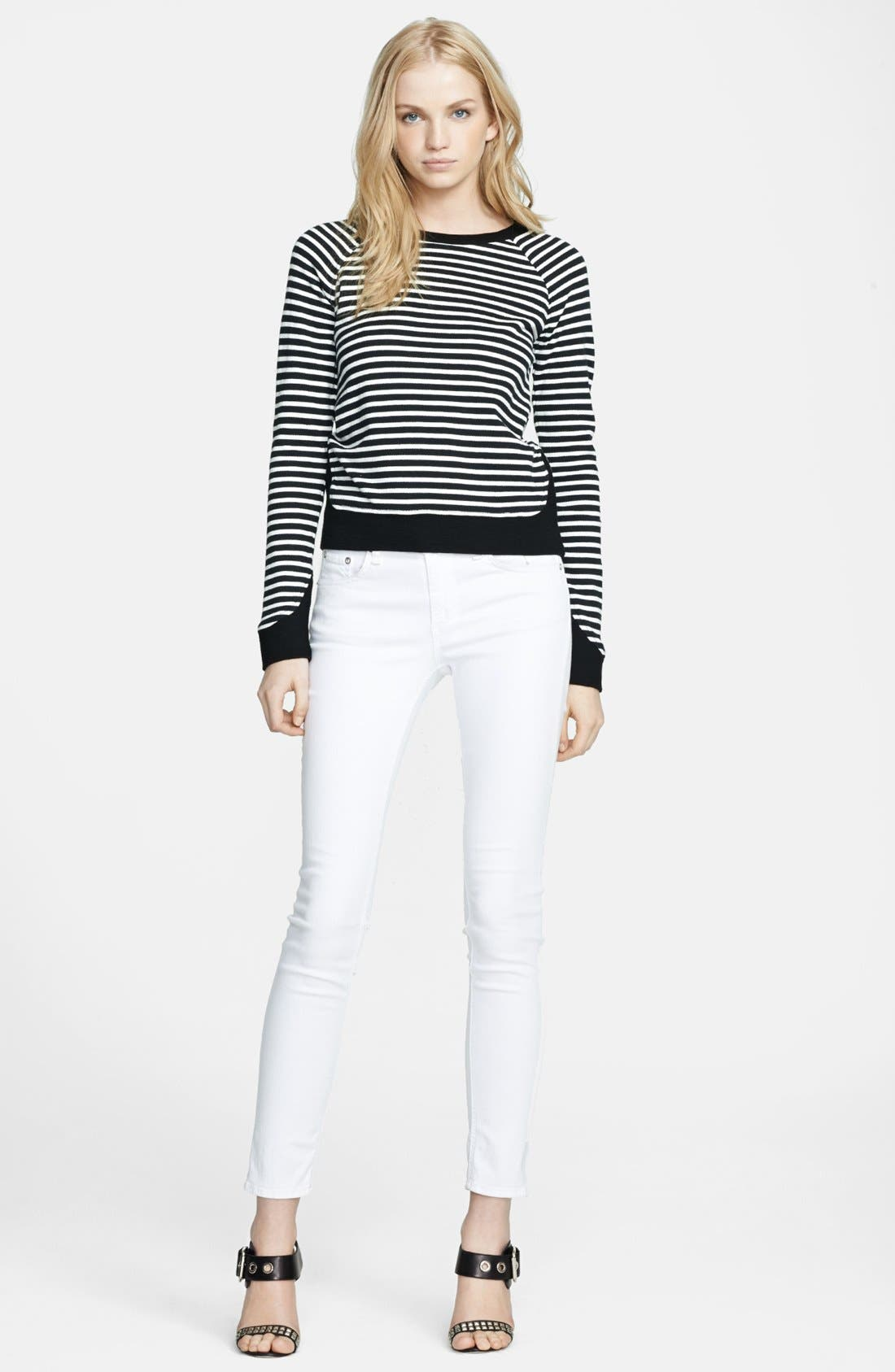 Alternate Image 3  - Whetherly 'Liam' Stripe Knit Sweater