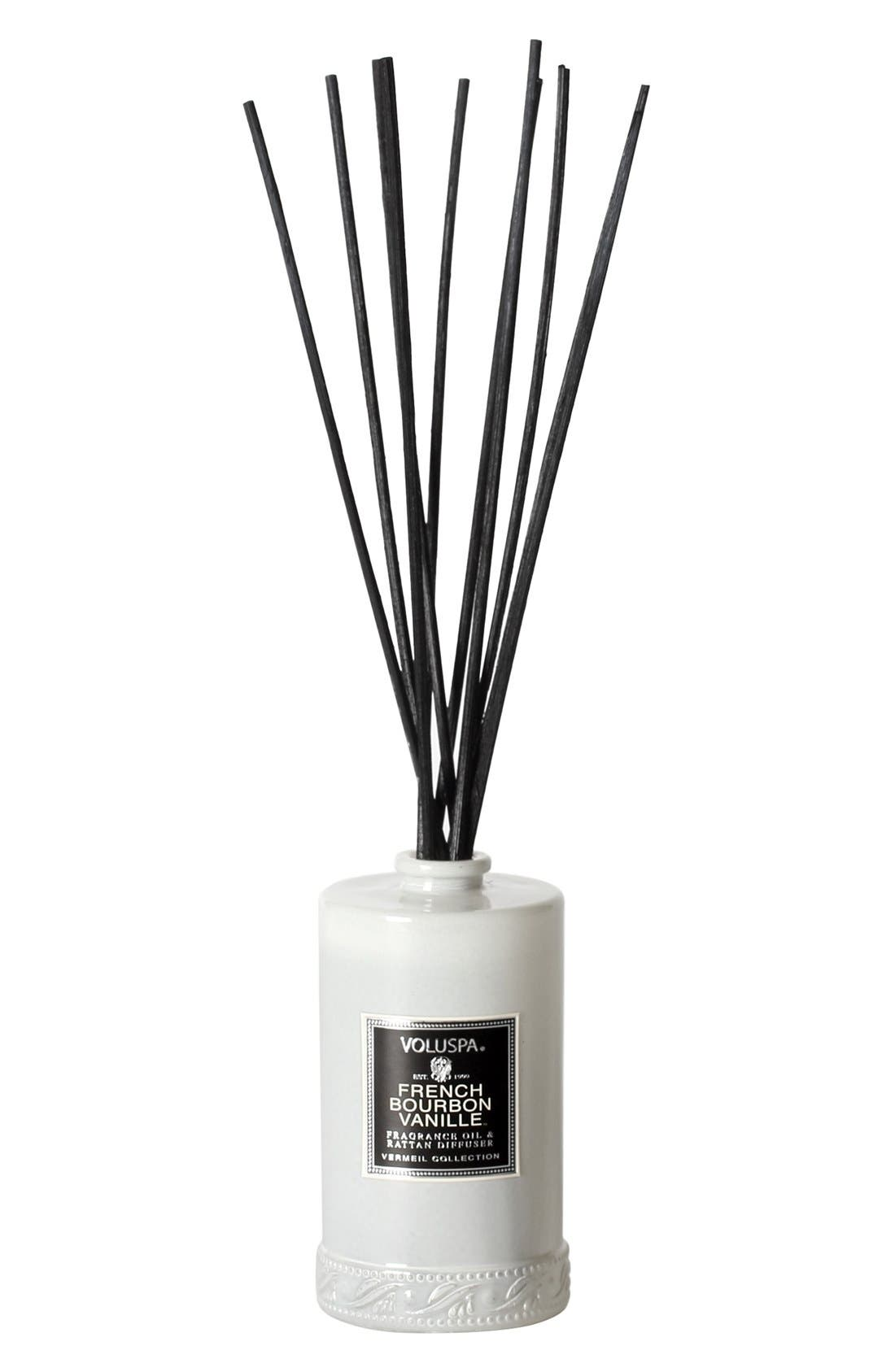 Alternate Image 1 Selected - Voluspa 'Vermeil - French Bourbon Vanille' Reed Diffuser