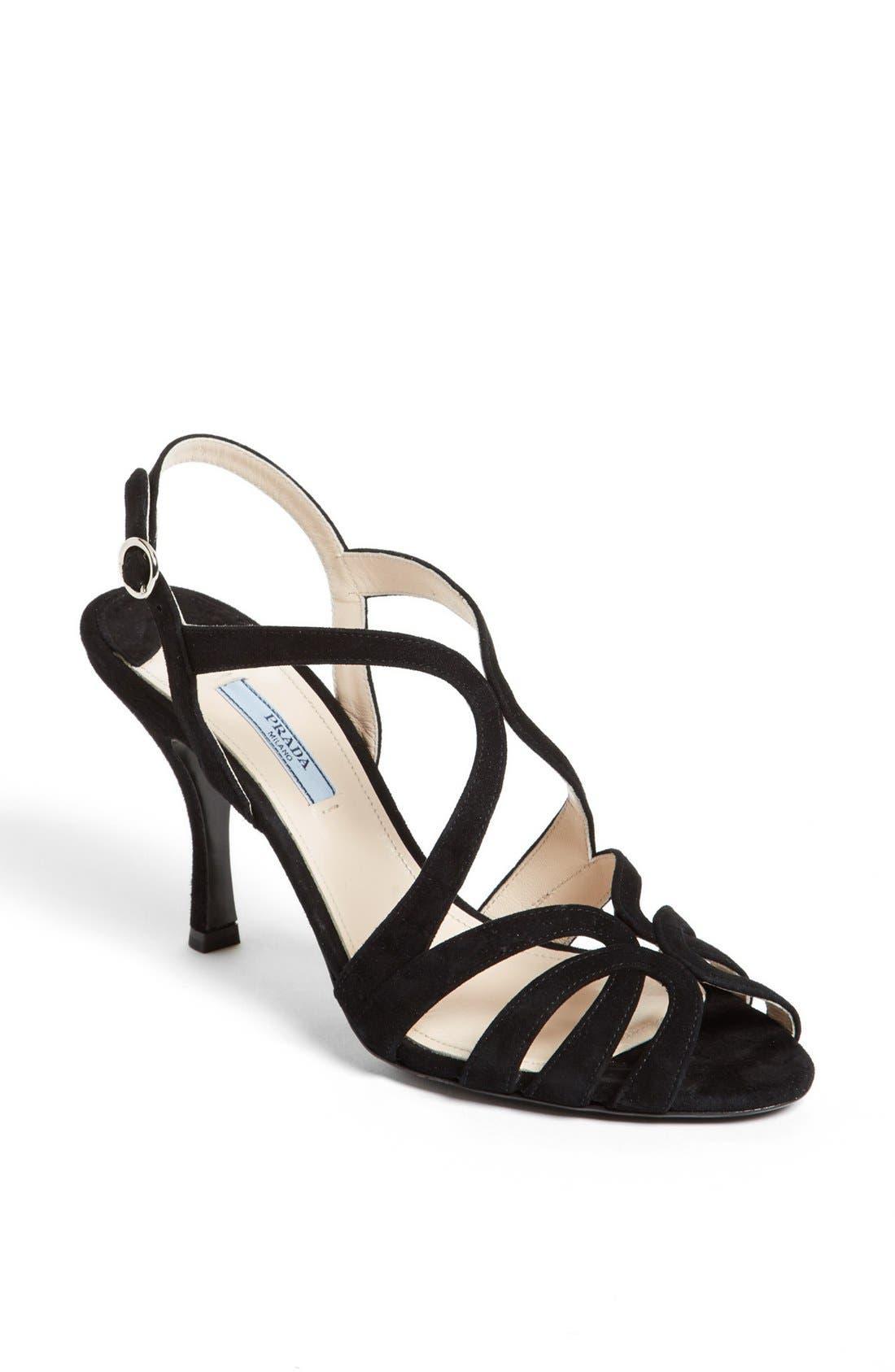 Alternate Image 1 Selected - Prada Strappy Sandal