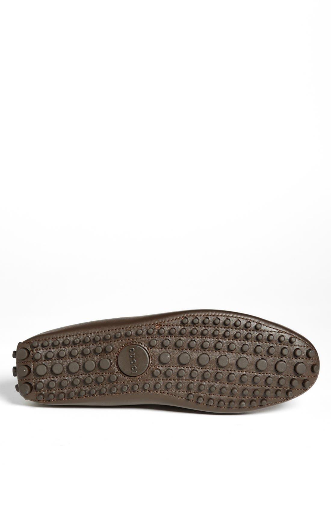 Alternate Image 4  - Gucci 'Damo' Diamante Driving Shoe