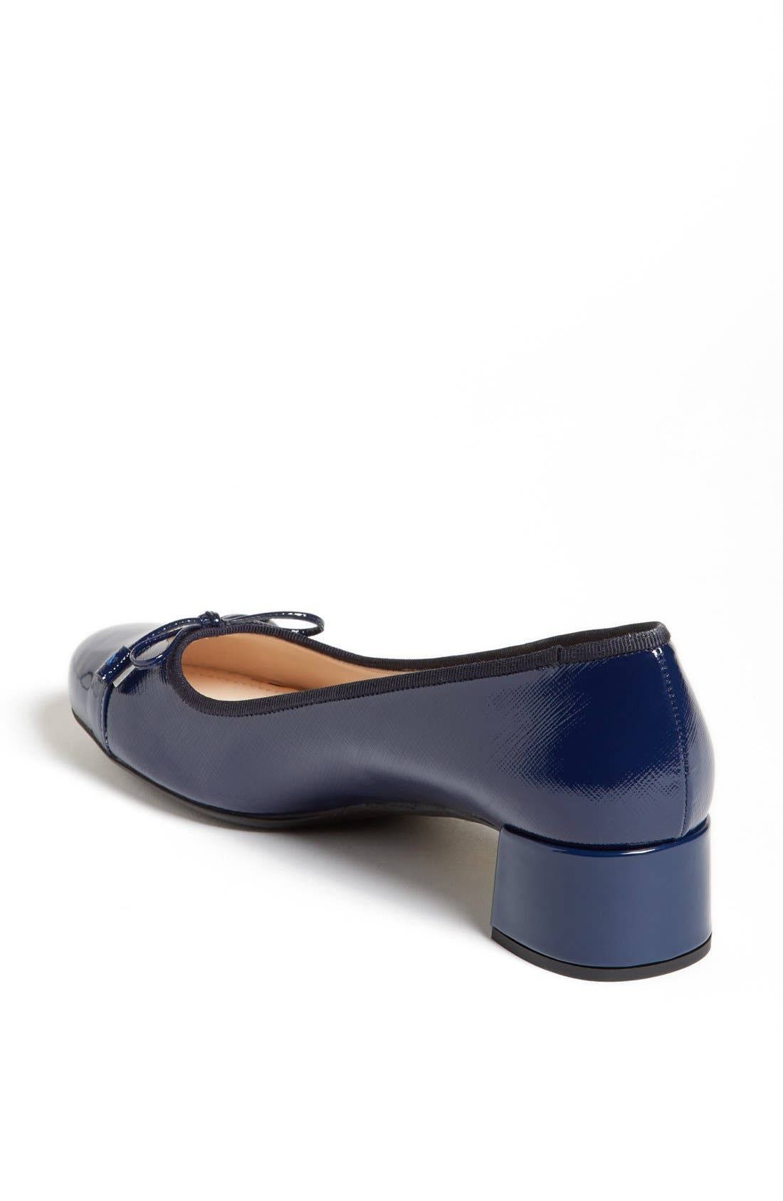 Alternate Image 2  - Prada Round Cap Toe Pump