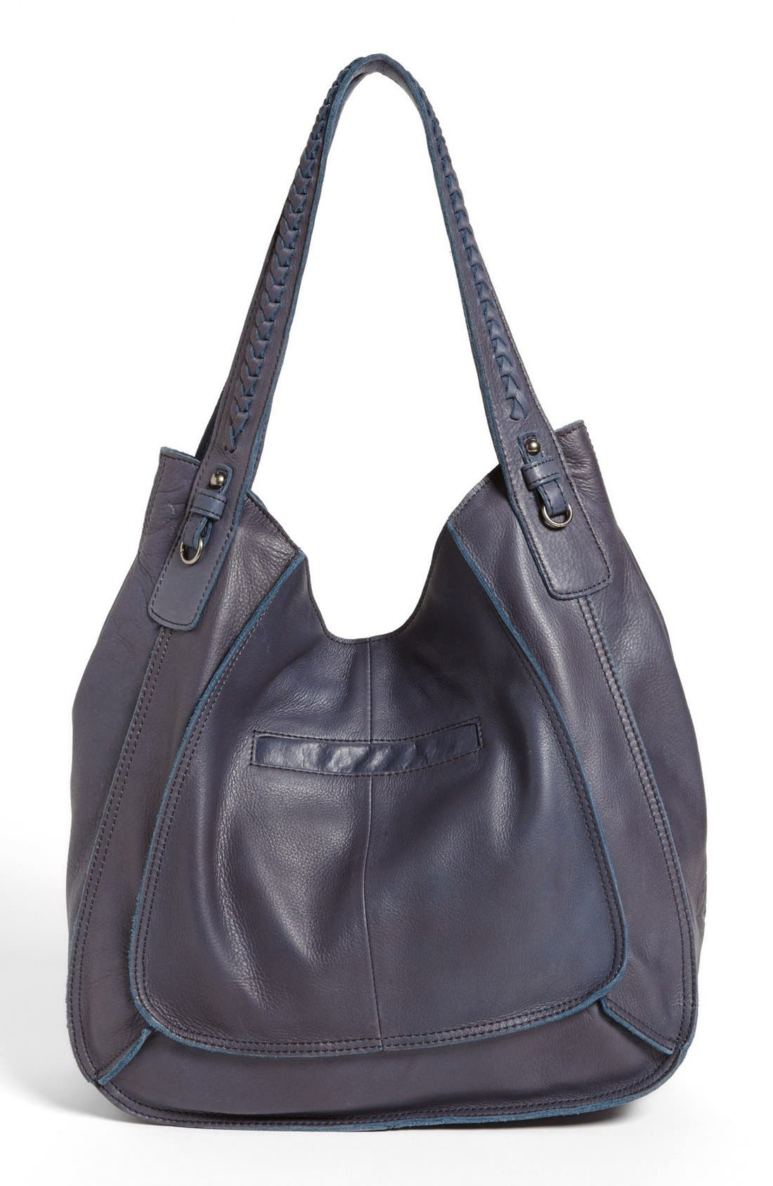 Alternate Image 4  - Lucky Brand 'Montgomery' Leather Tote