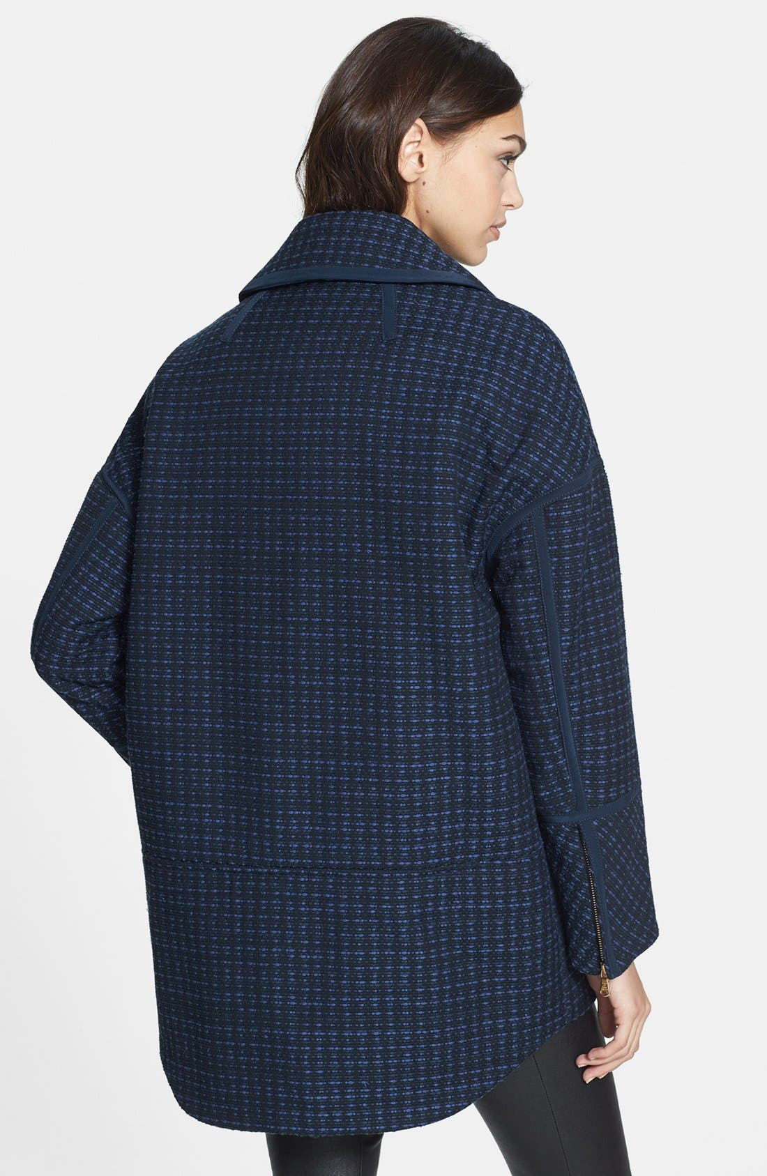 Alternate Image 2  - MARC BY MARC JACOBS 'Casey' Tweed Coat