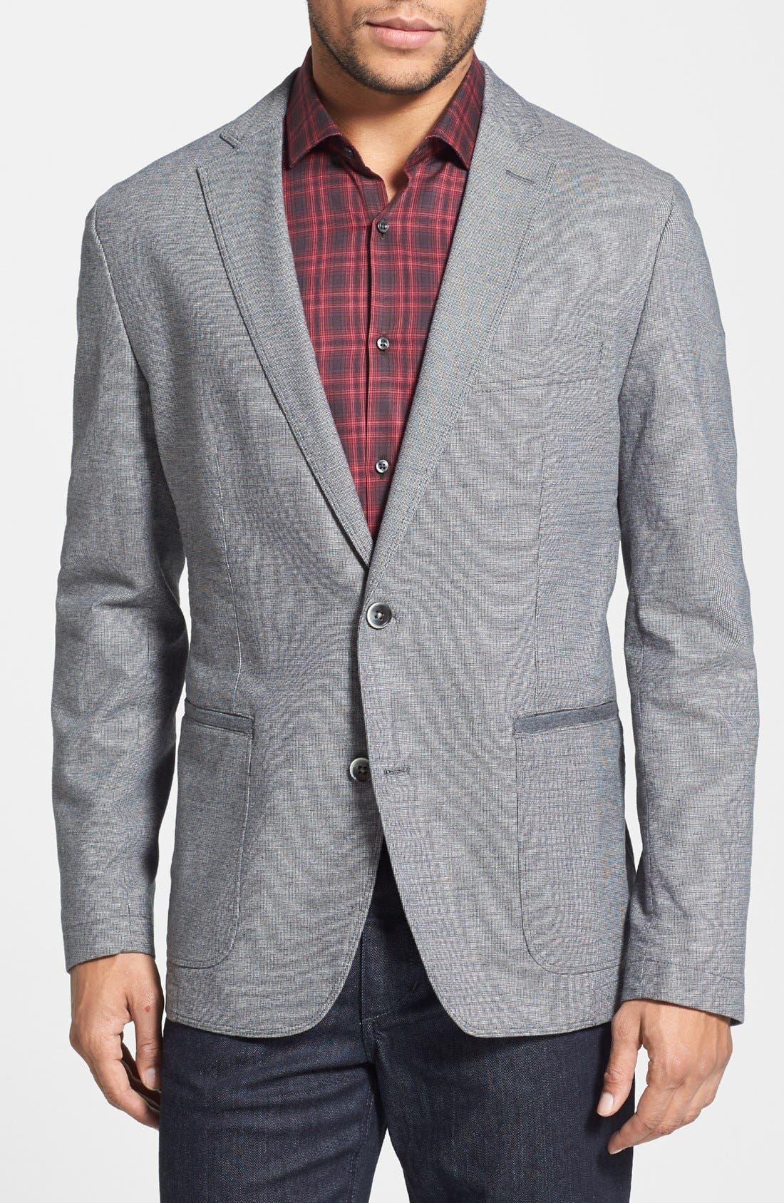 Alternate Image 1 Selected - BOSS HUGO BOSS 'Morell' Regular Fit Blazer