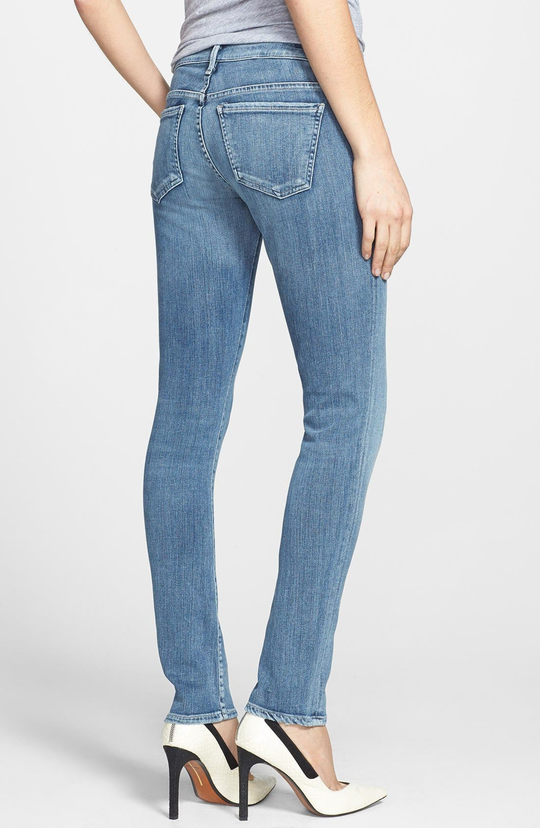 Alternate Image 2  - Citizens of Humanity 'Racer' Low Rise Skinny Jeans (Gaze)