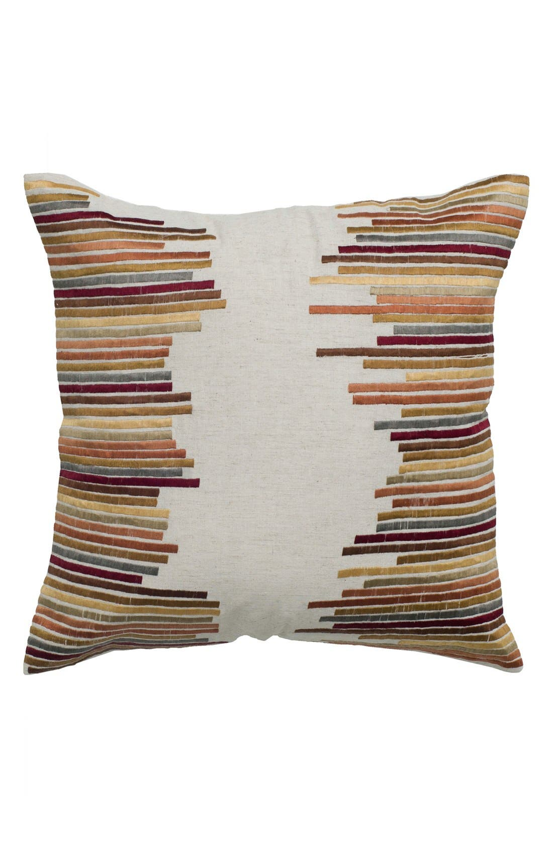 Alternate Image 1 Selected - Rizzy Home 'Jagged Stripe' Pillow