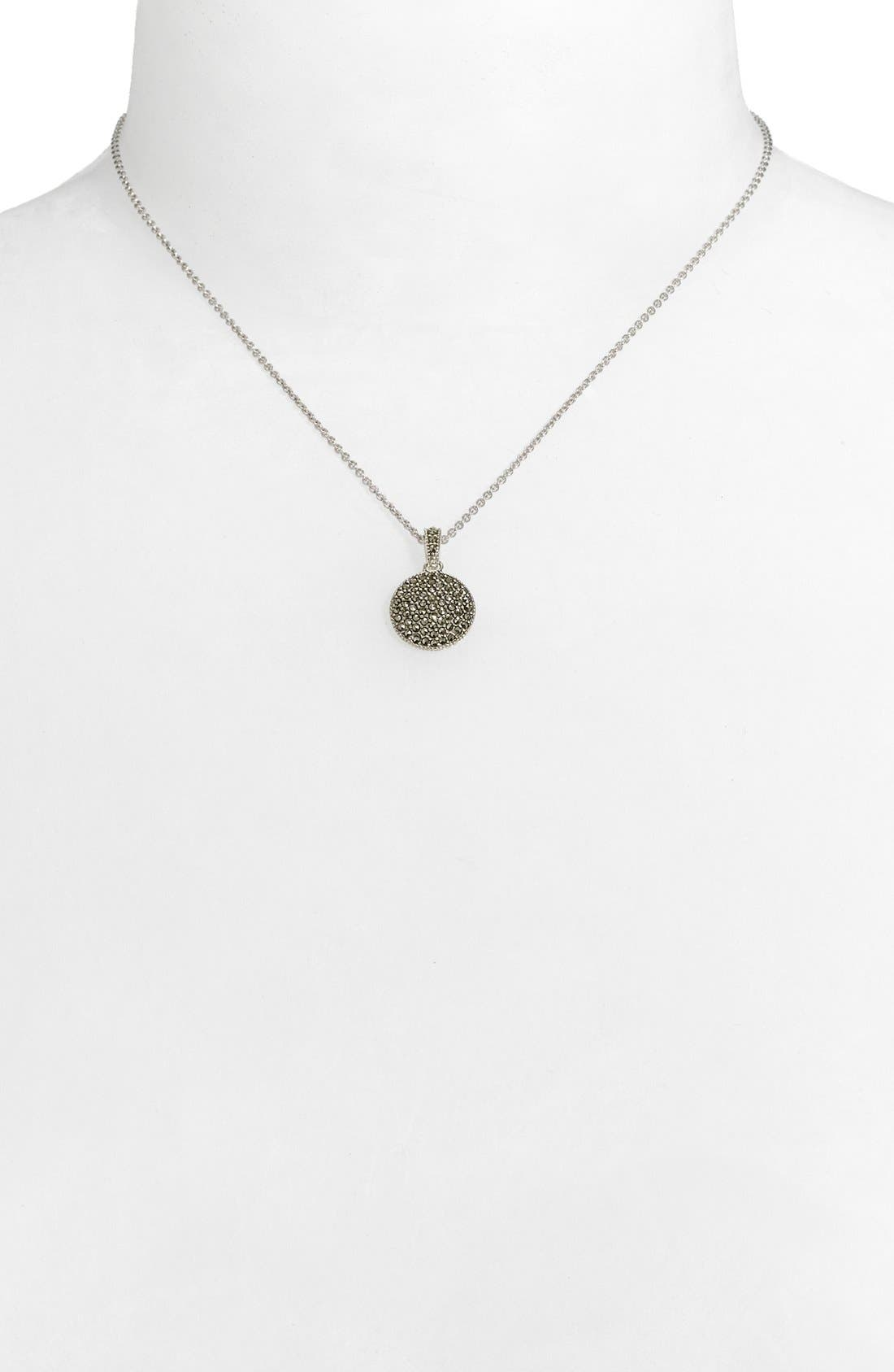 Alternate Image 2  - Judith Jack Reversible Pavé Pendant Necklace