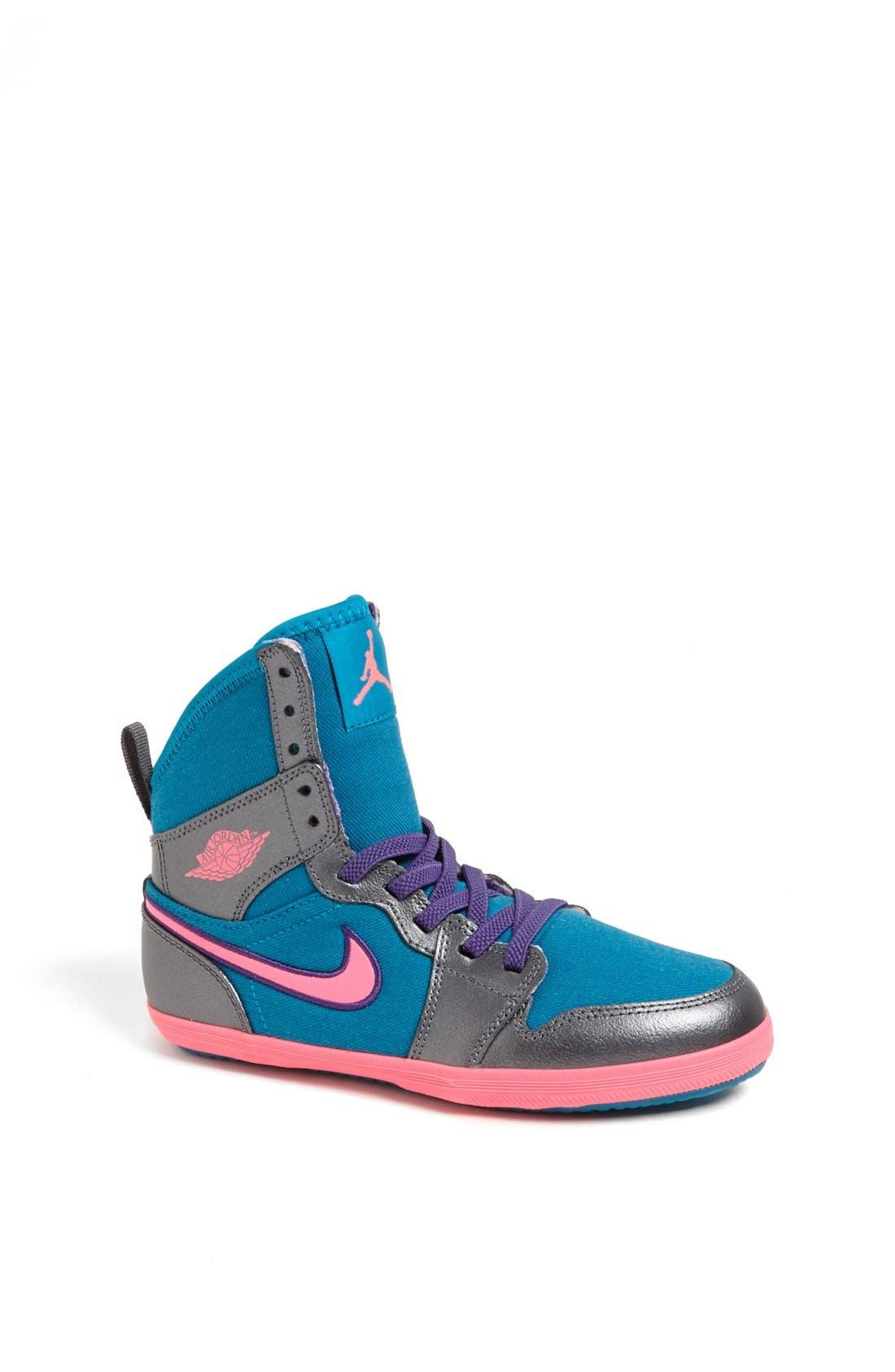 Alternate Image 1 Selected - Nike 'Jordan 1 Skinny High' Sneaker (Toddler & Little Kid)