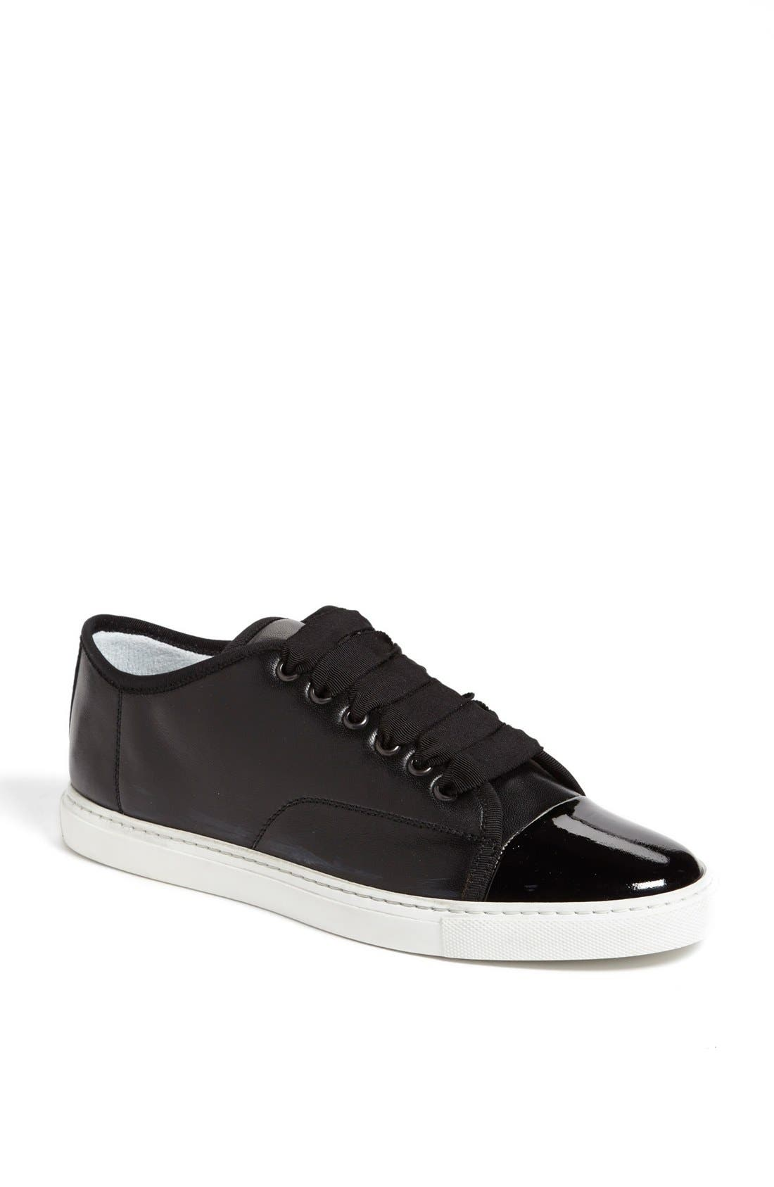 Main Image - Lanvin Leather Low Top Sneaker